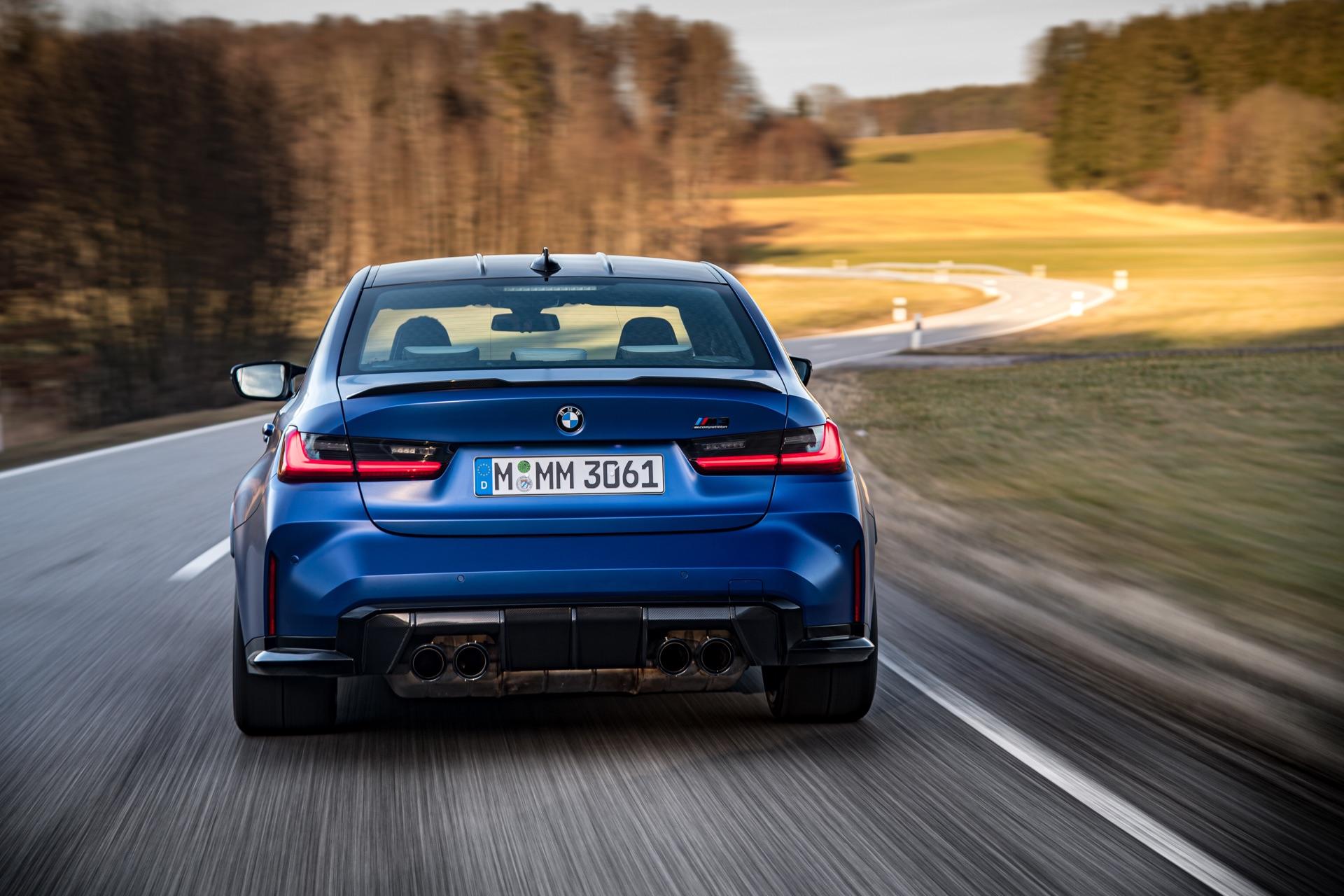 2022 BMW M3 top speed