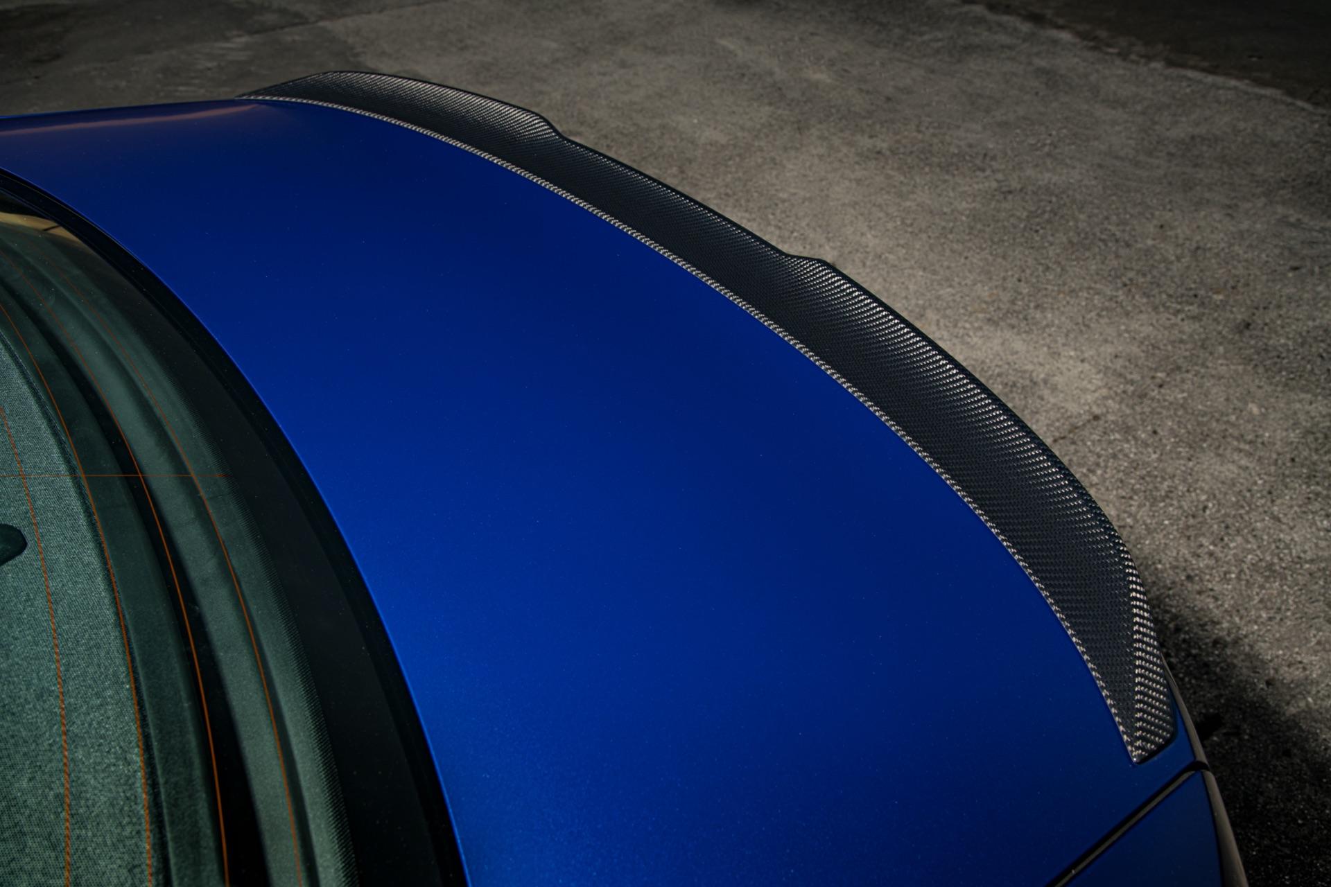 2022 BMW M3 duct spoiler