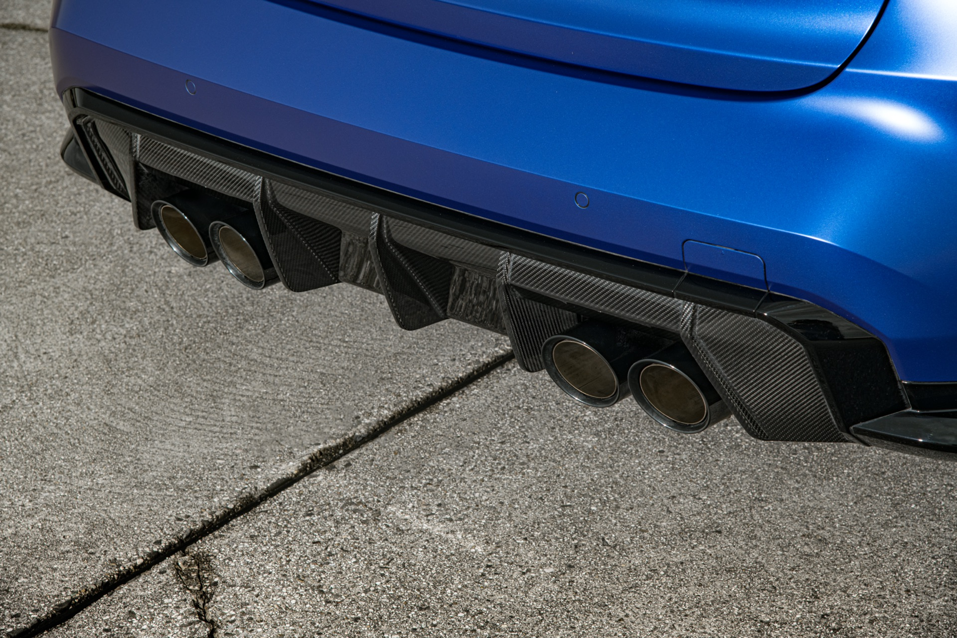 2022 BMW M3 exhaust