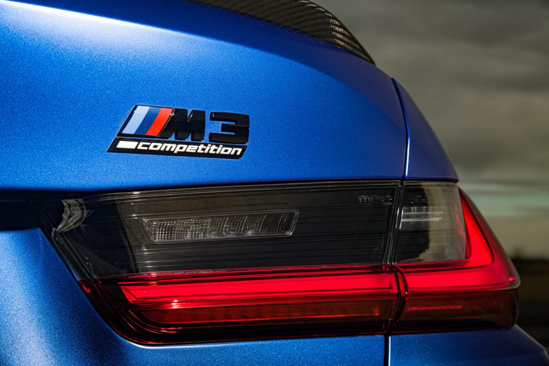 2022 BMW M3 rear badge