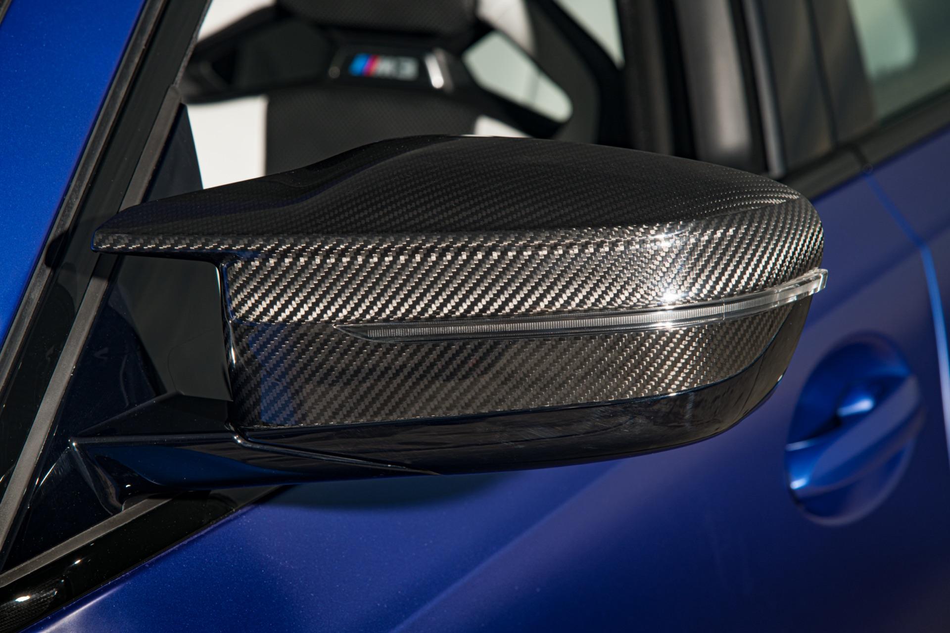 2022 BMW M3 carbon mirror caps