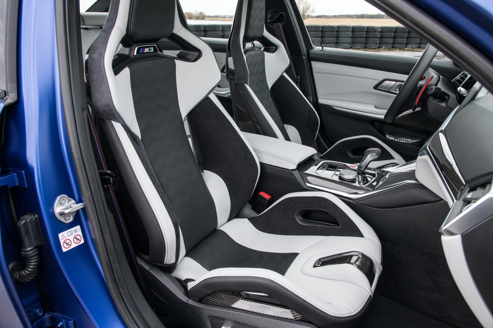 2022 BMW G80 M3 seats