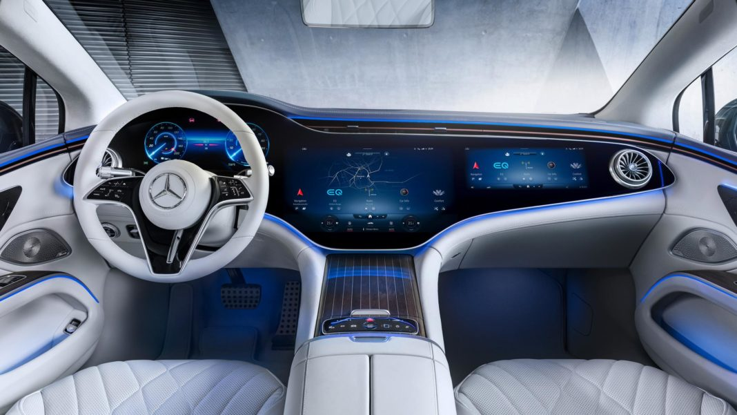 Mercedes-Benz EQS Interior