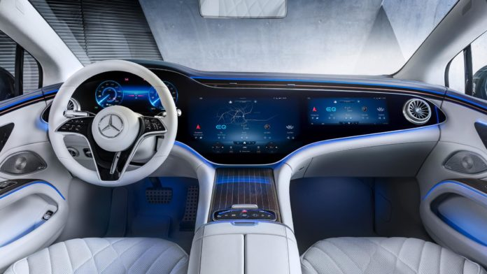 2022 Mercedes-Benz EQS: 7 Key Interior Features