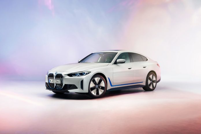 The new BMW i4: Full Electric 'M4' Gran Coupe Revealed
