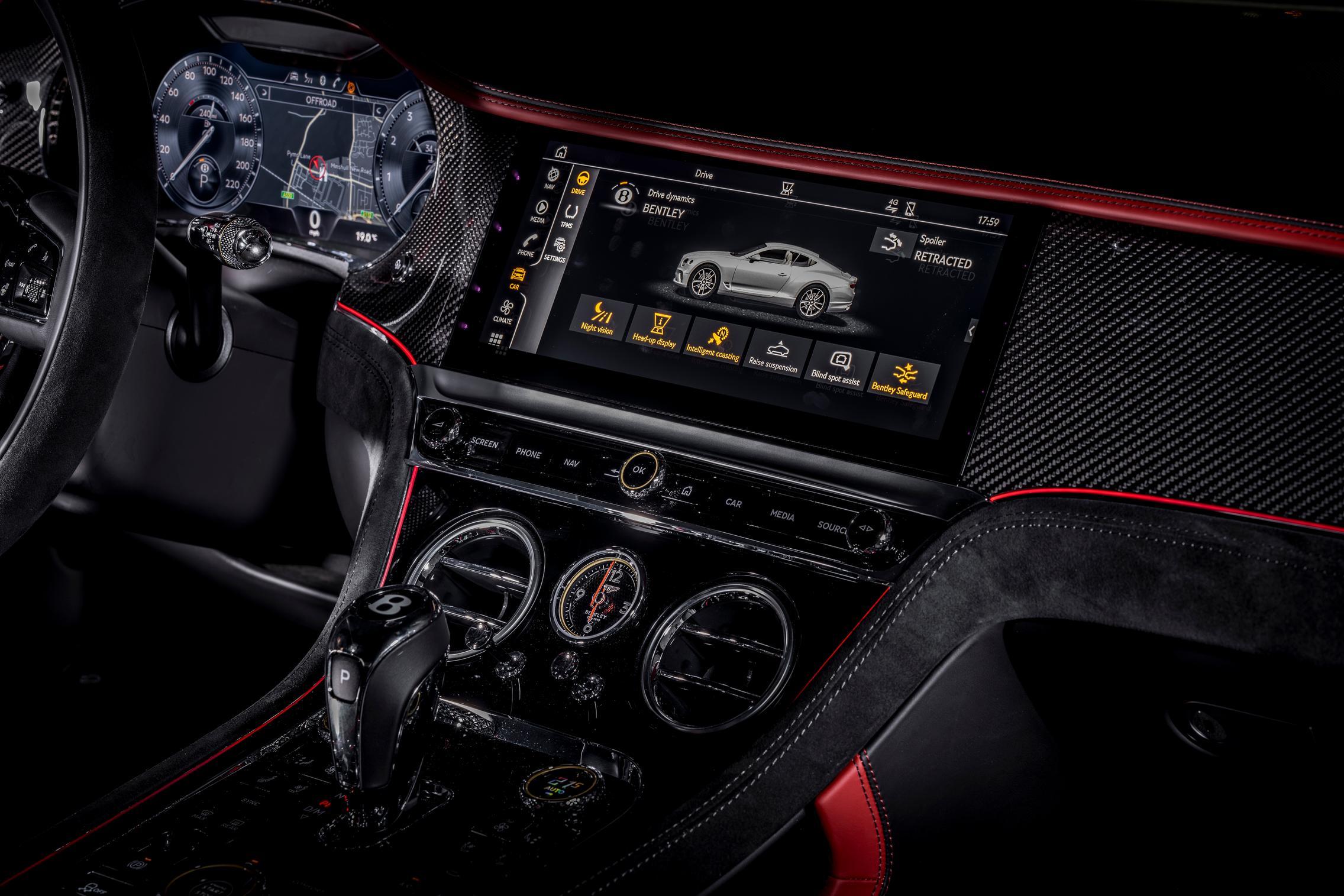 Bentley Continental GT Speed cabin
