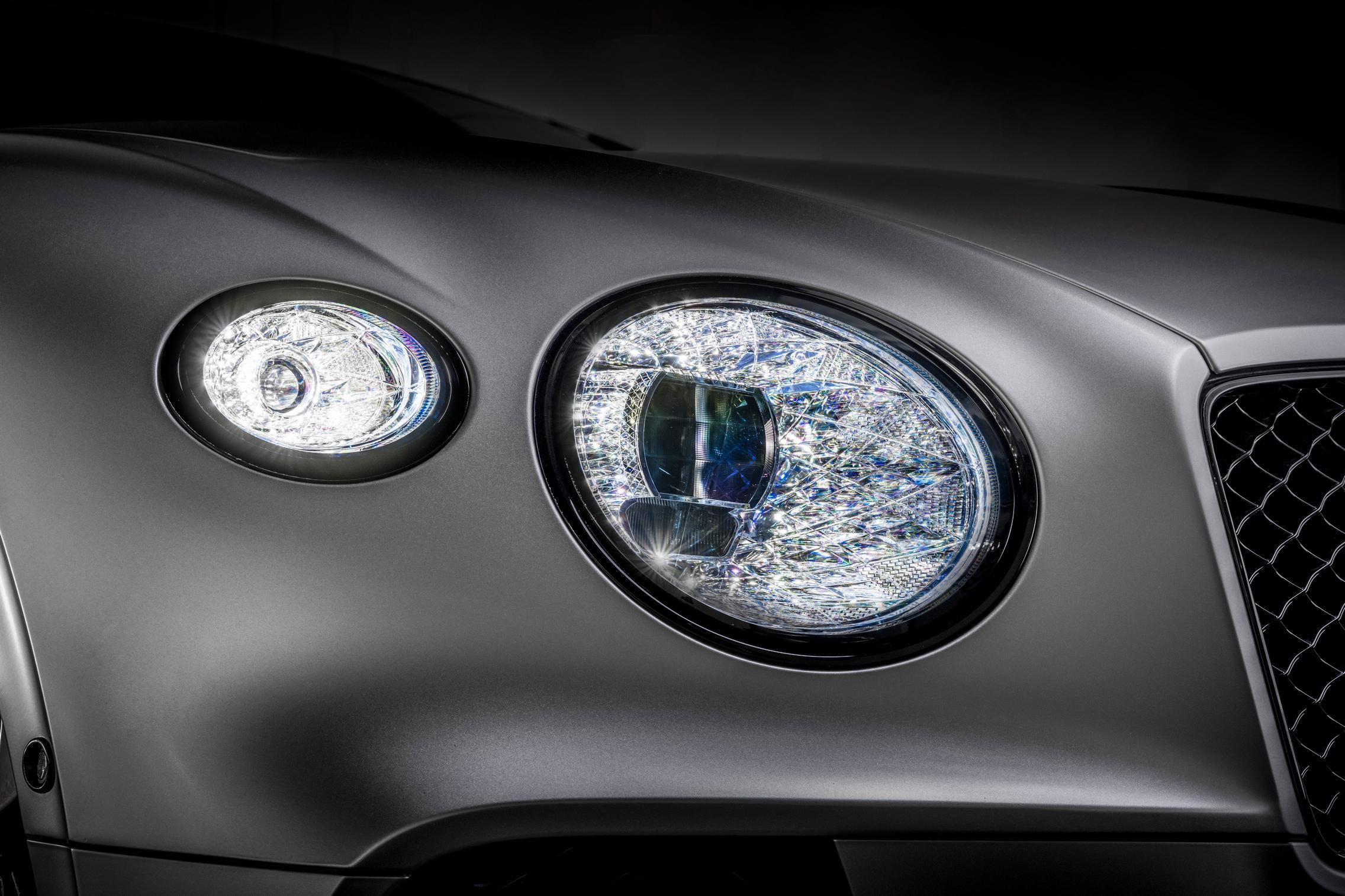 Bentley Continental GT Speed headlights