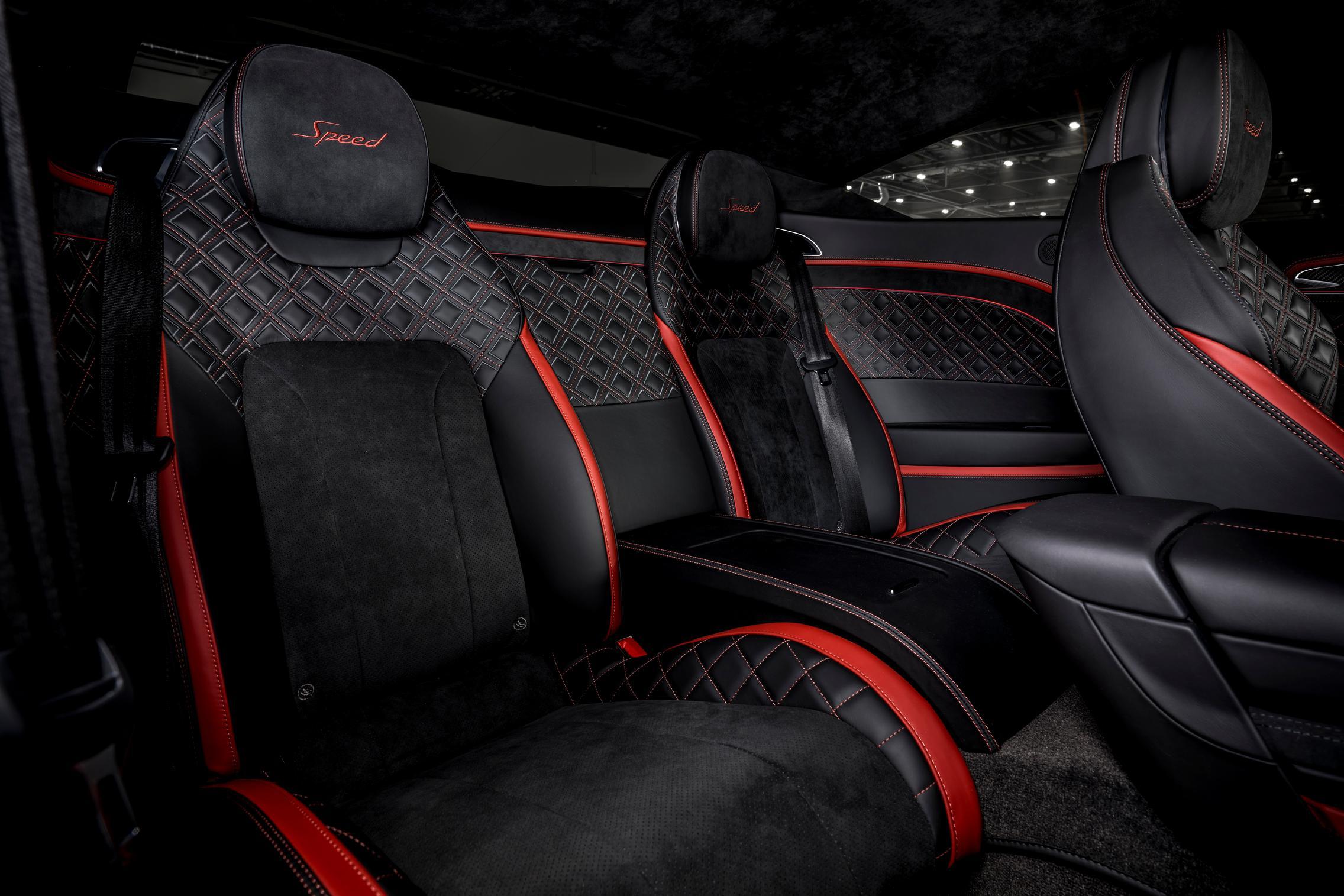 Bentley Continental GT Speed rear seats