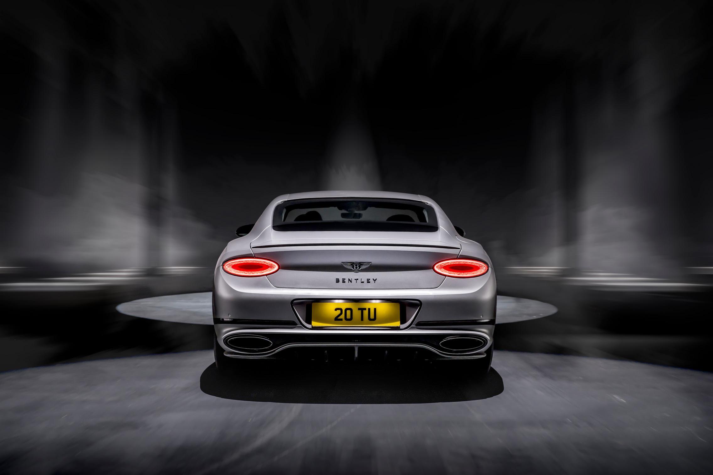 Bentley Continental GT Speed rear