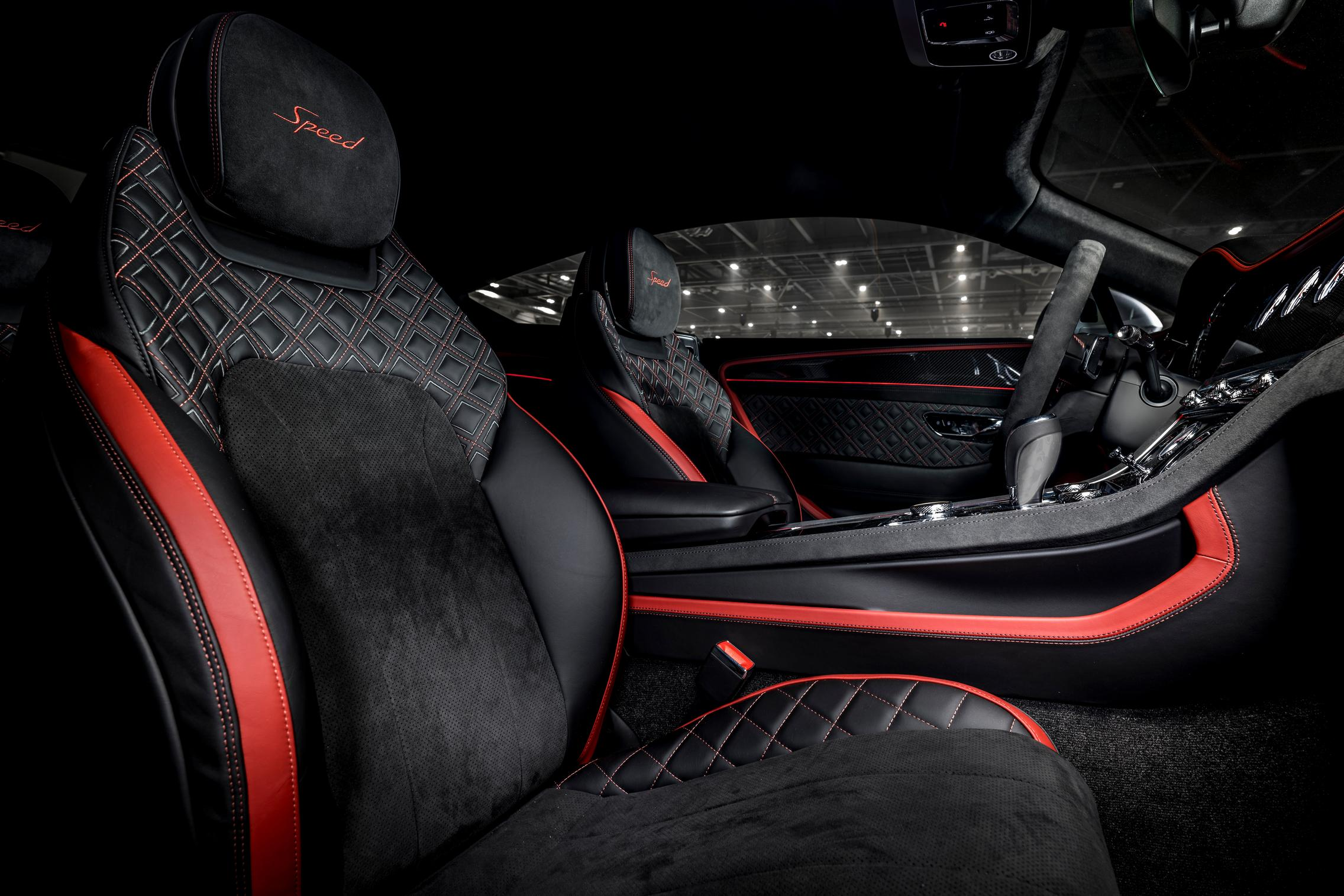 Bentley Continental GT Speed seats