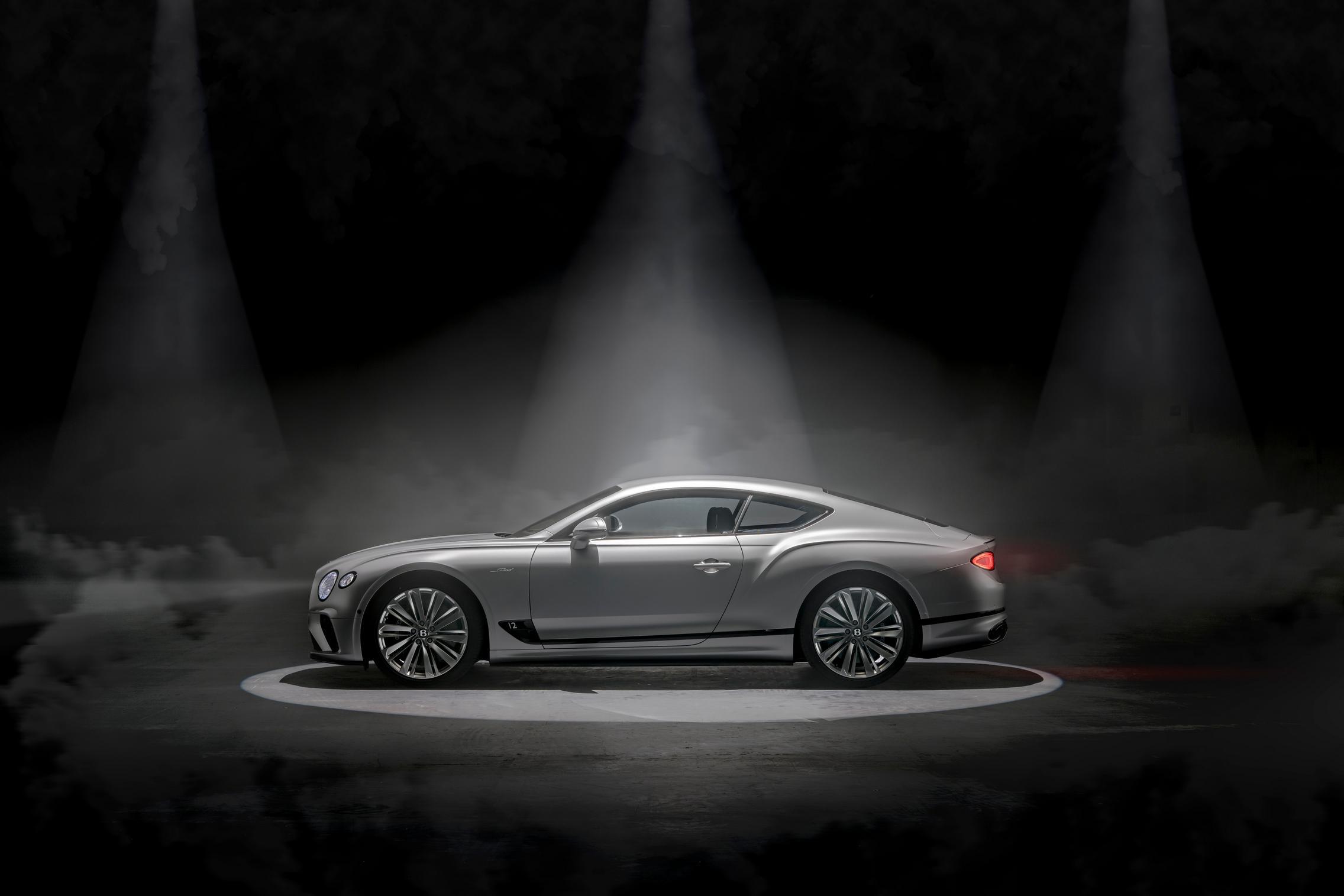Bentley Continental GT Speed side