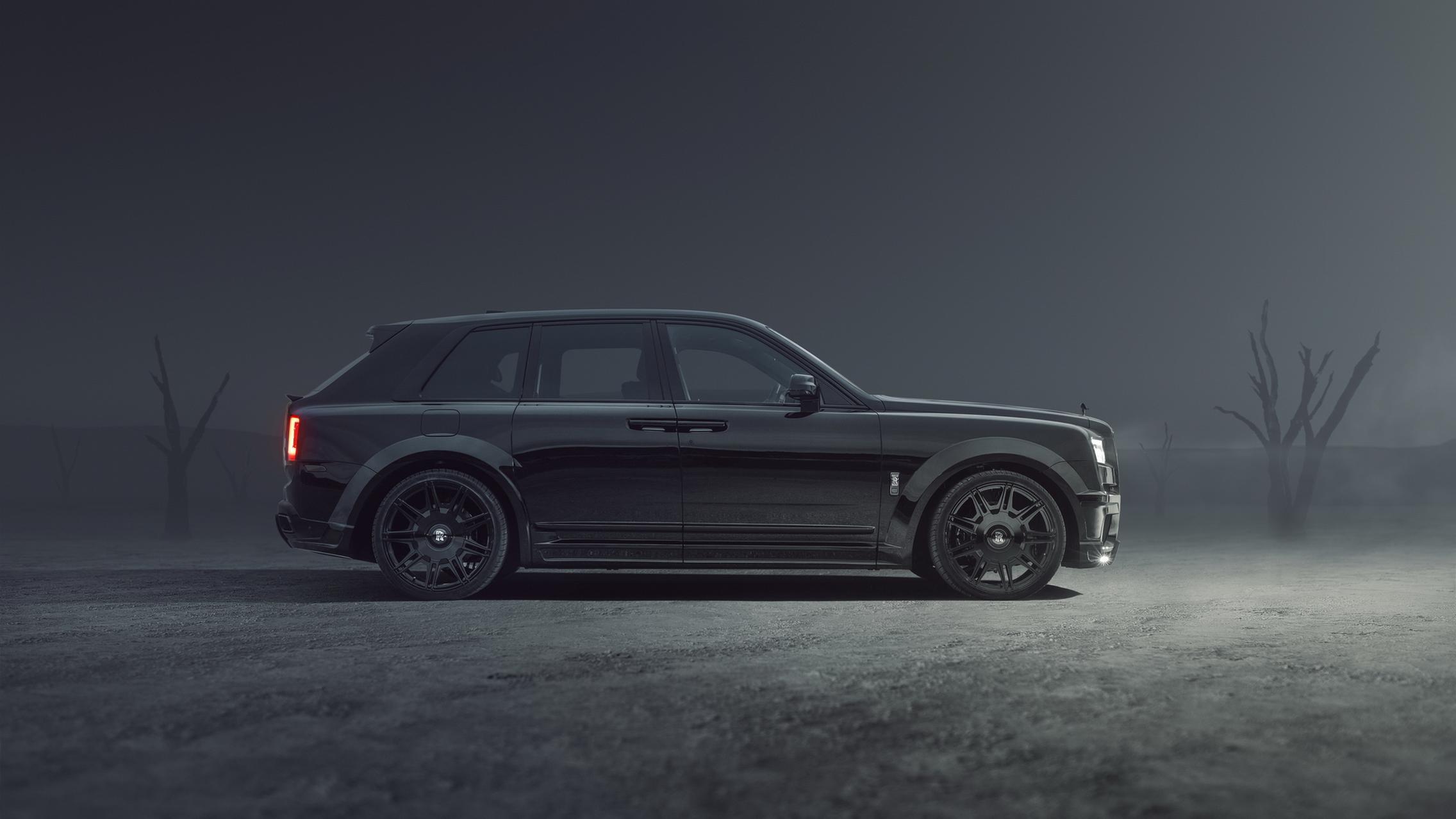 Black Rolls-Royce Cullinan