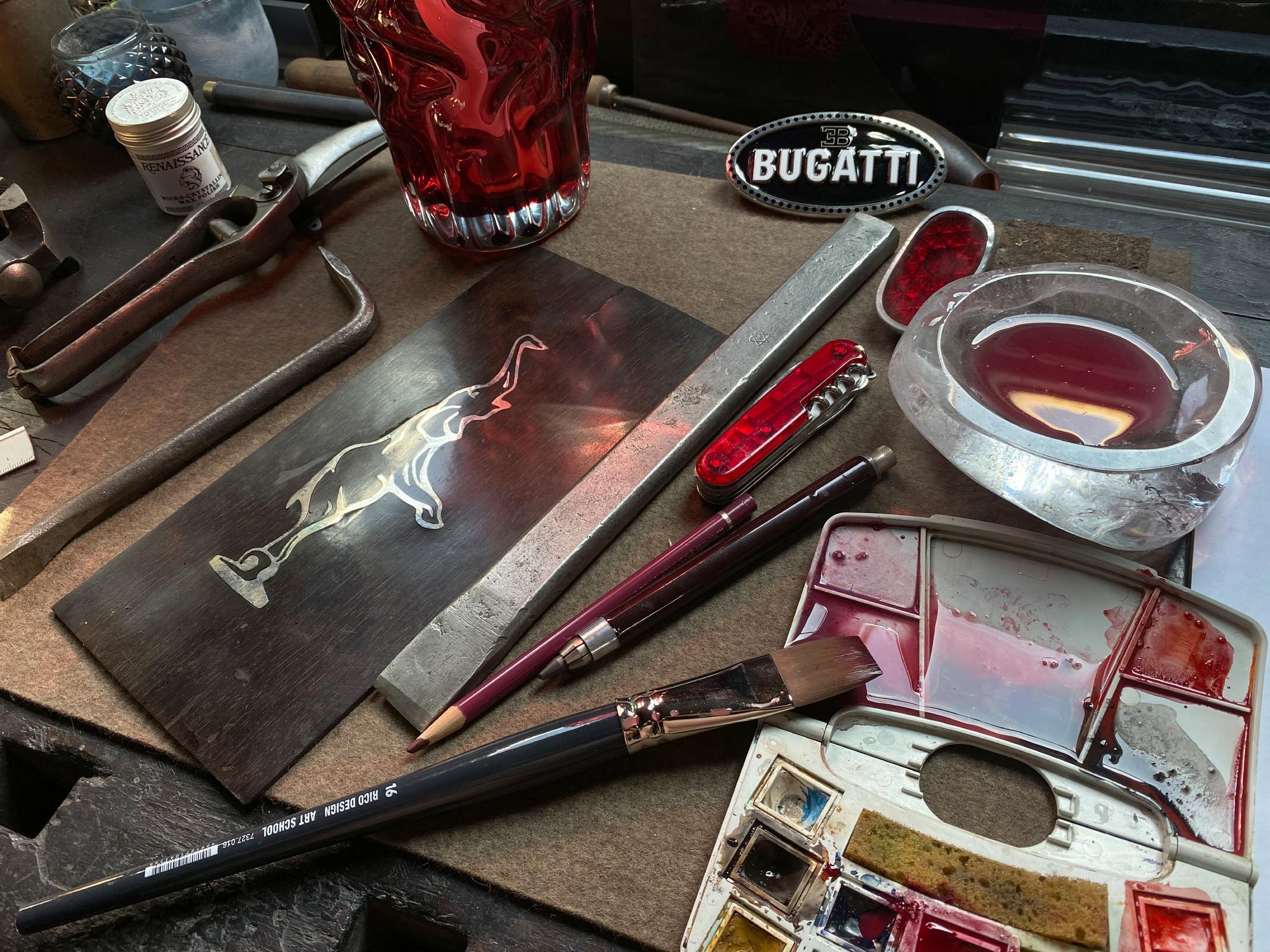 Bugatti paints