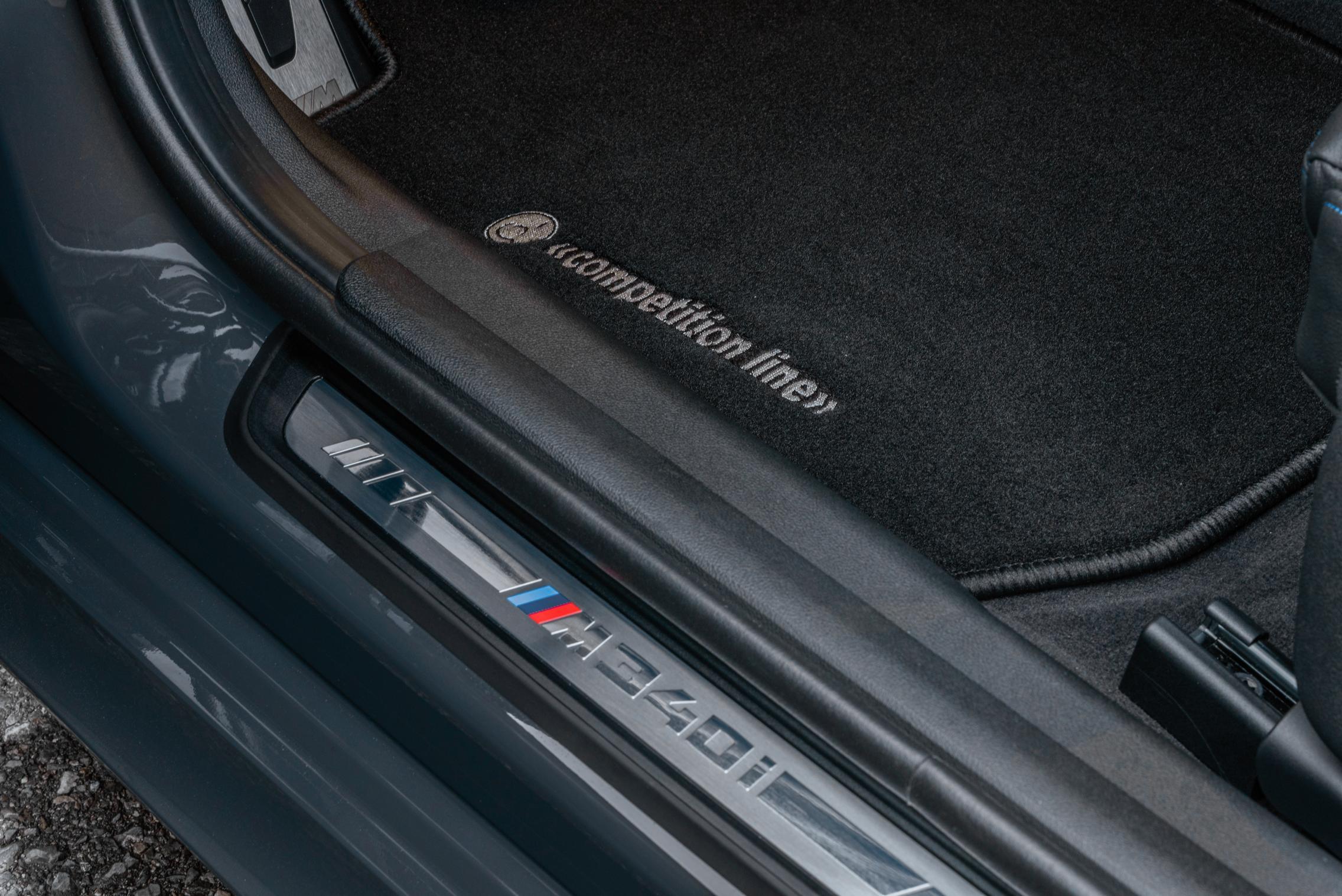 Dahler BMW M340i xDrive door sills