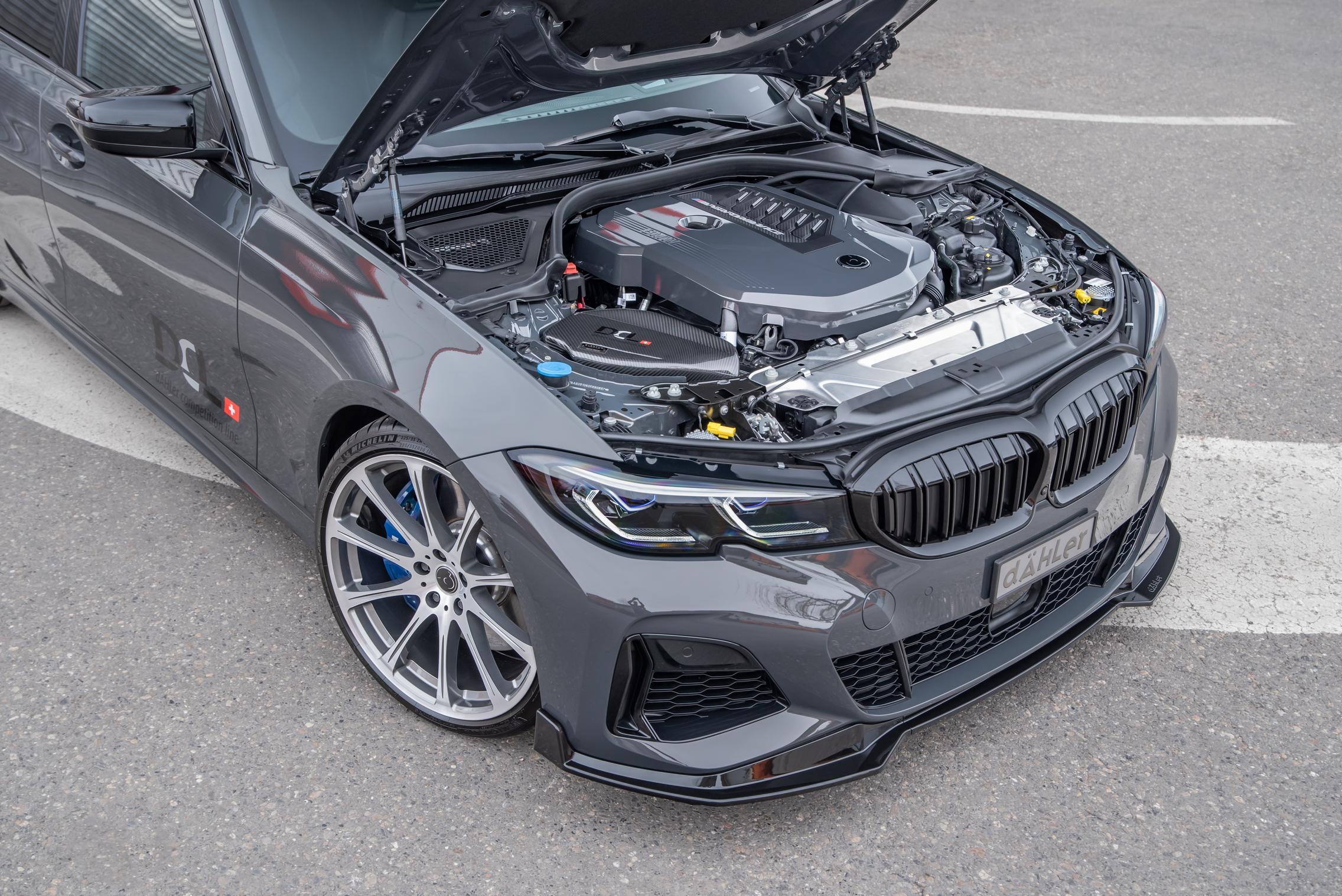 Dahler BMW M340i xDrive engine