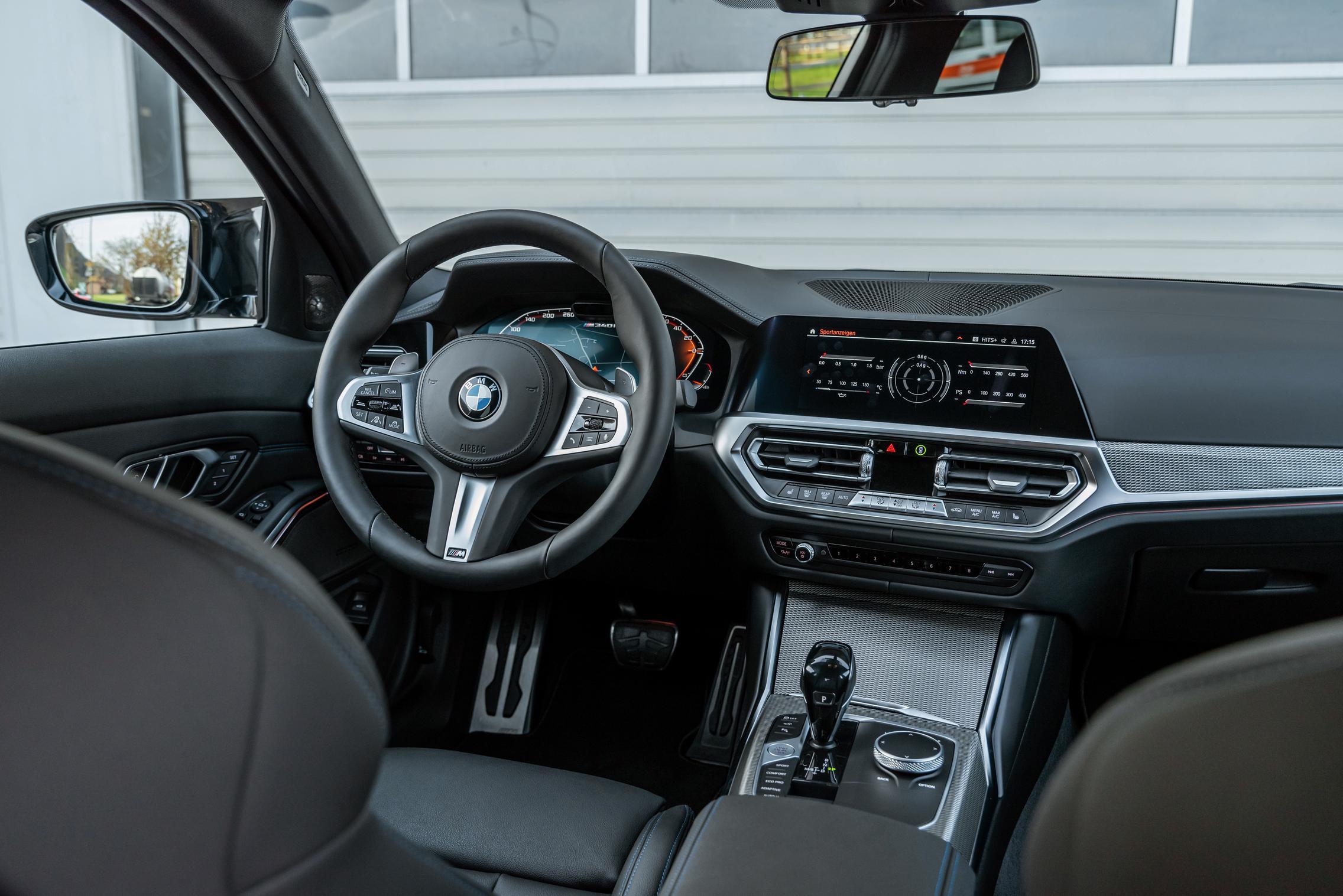Dahler BMW M340i xDrive interior