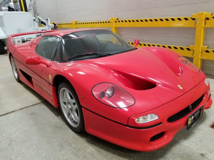 Police in New York Recover Ferrari F50 Stolen 18 Years Ago in Italy