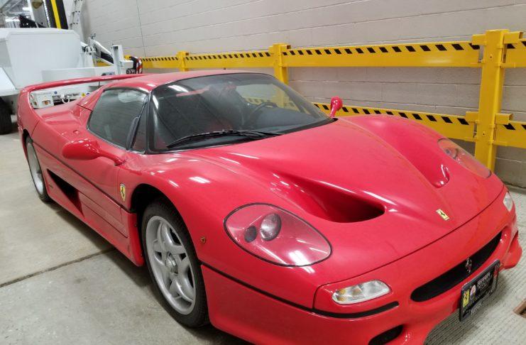 Ferrari F50 Stolen