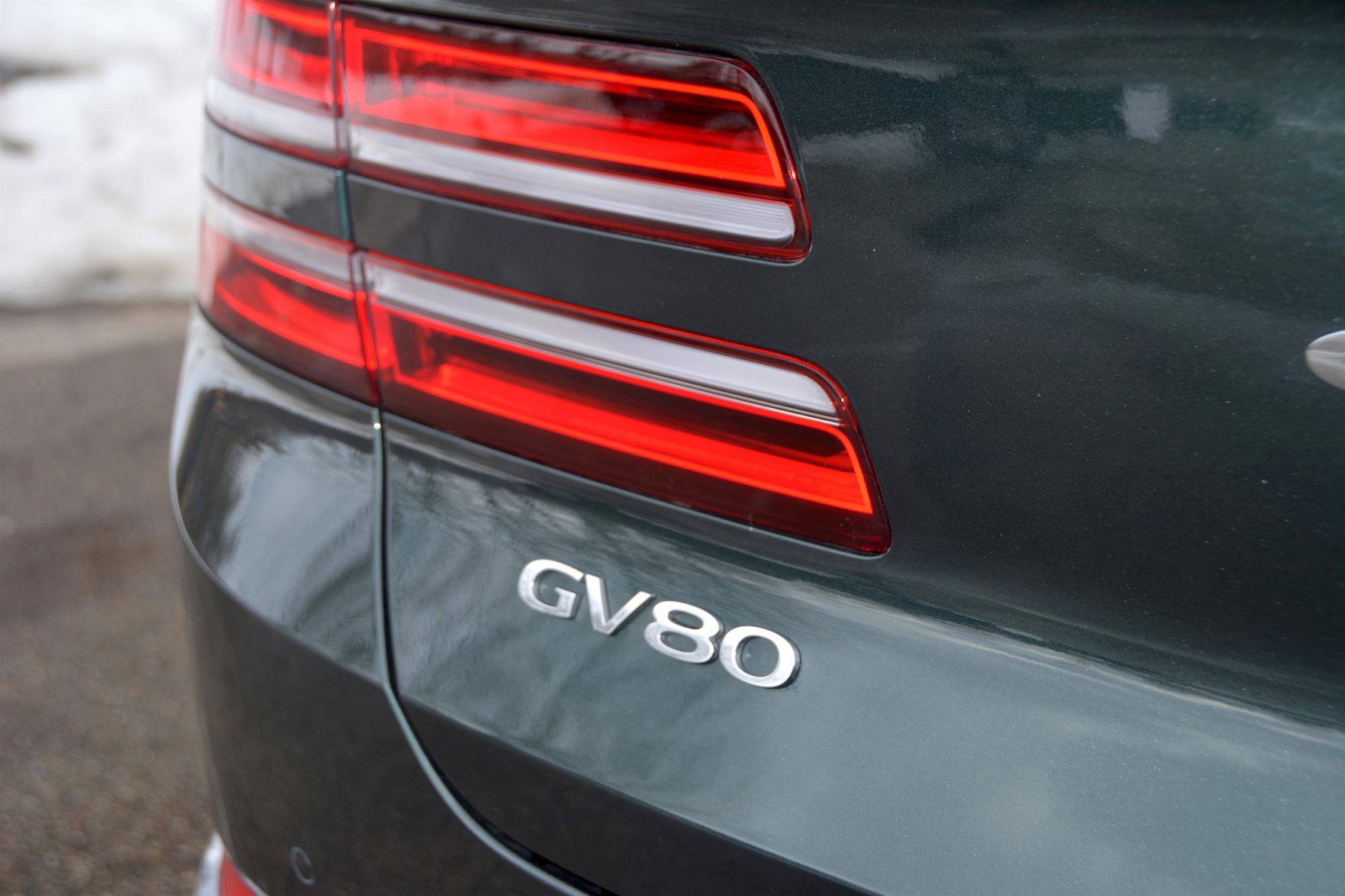 GV80 Badge