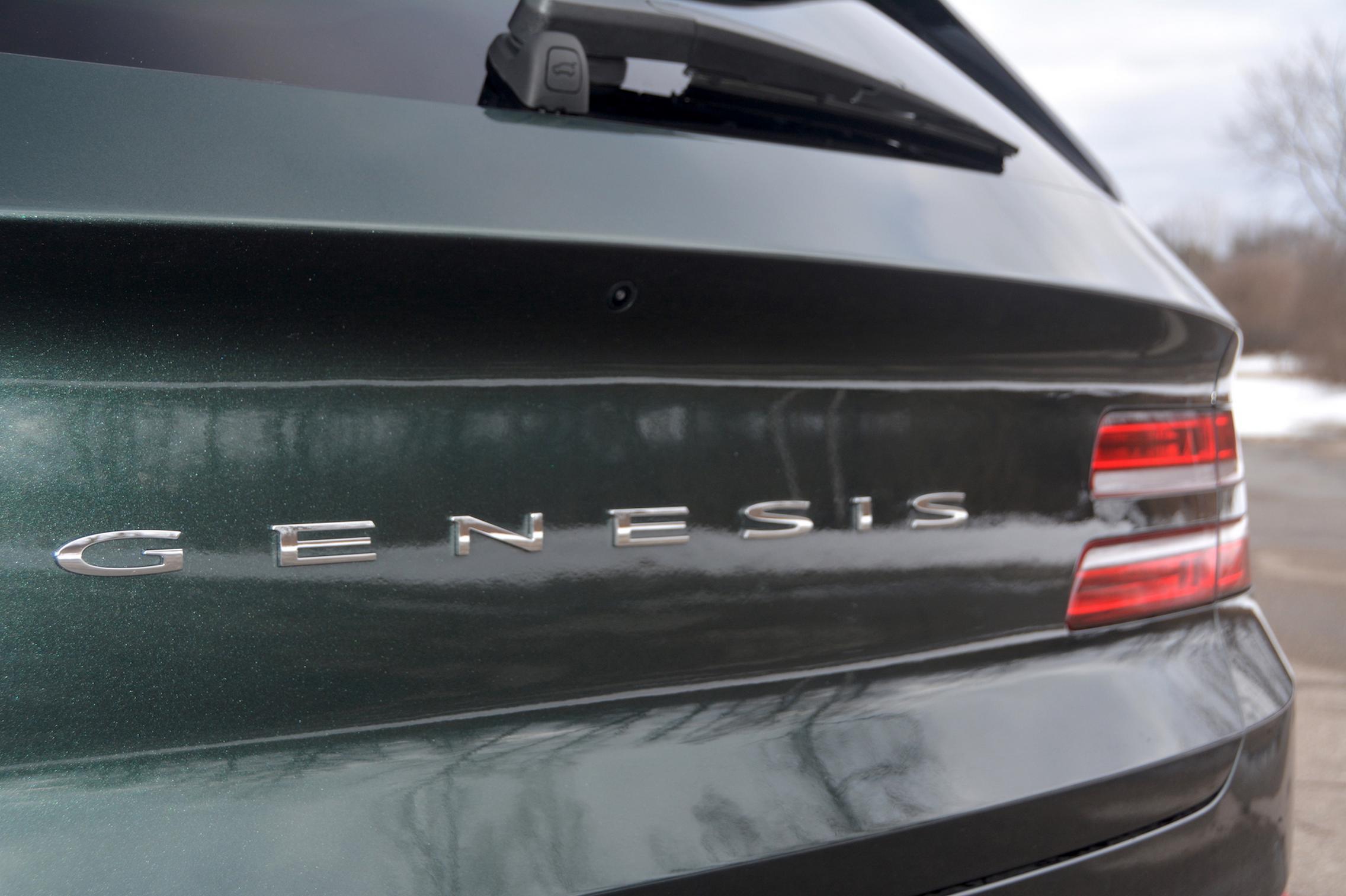 Genesis Car Badge