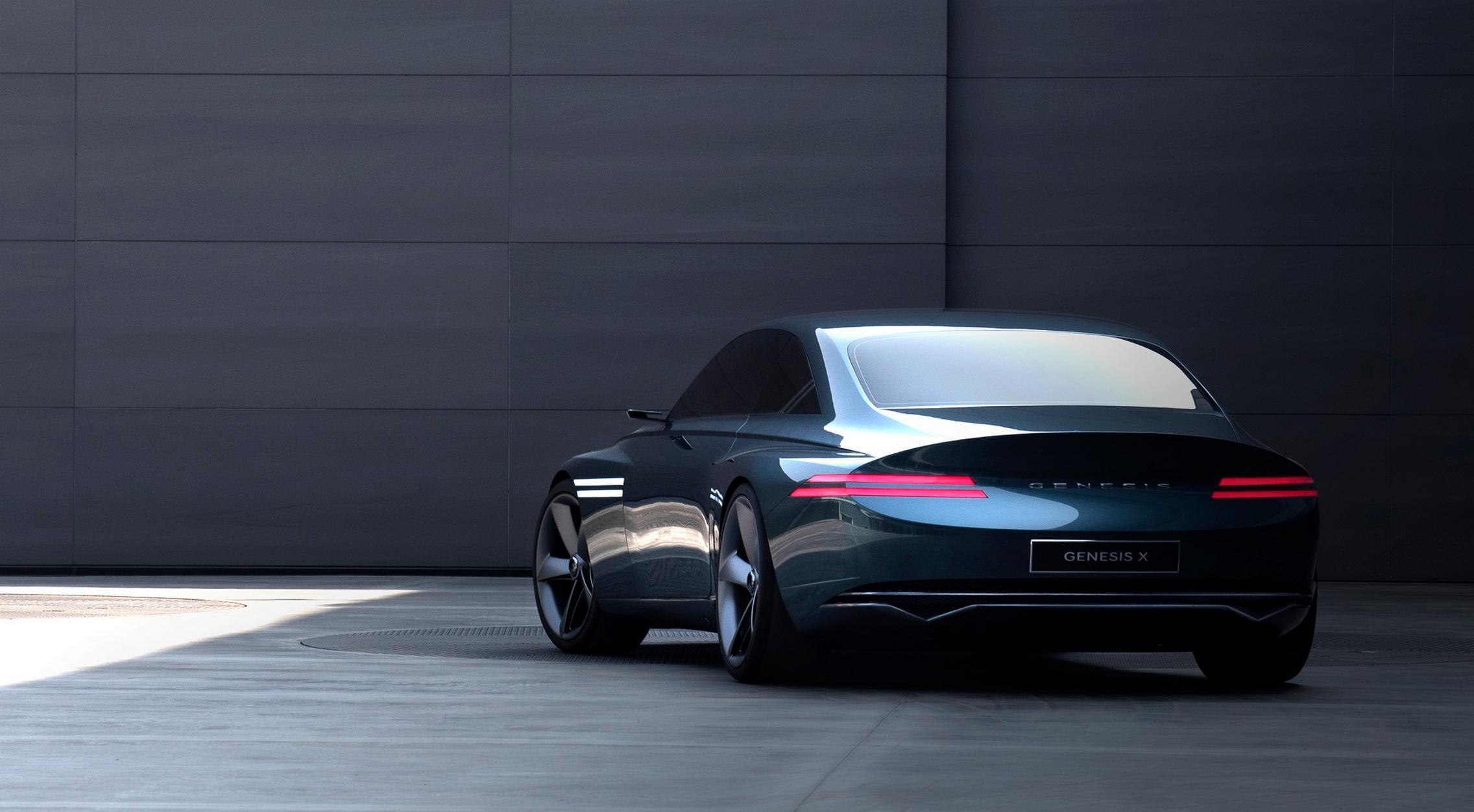 Genesis X Concept rear