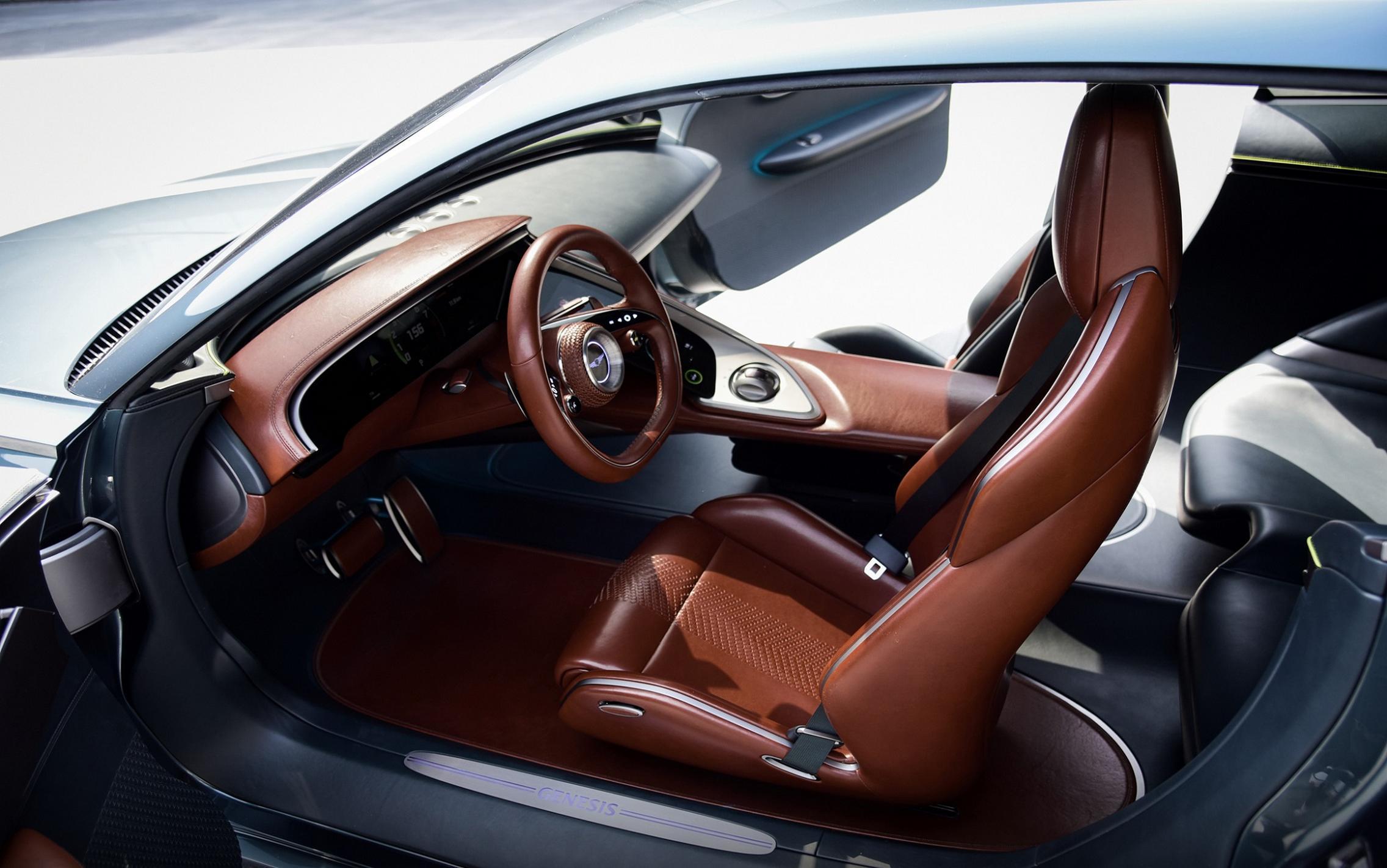 Genesis X Concept seats