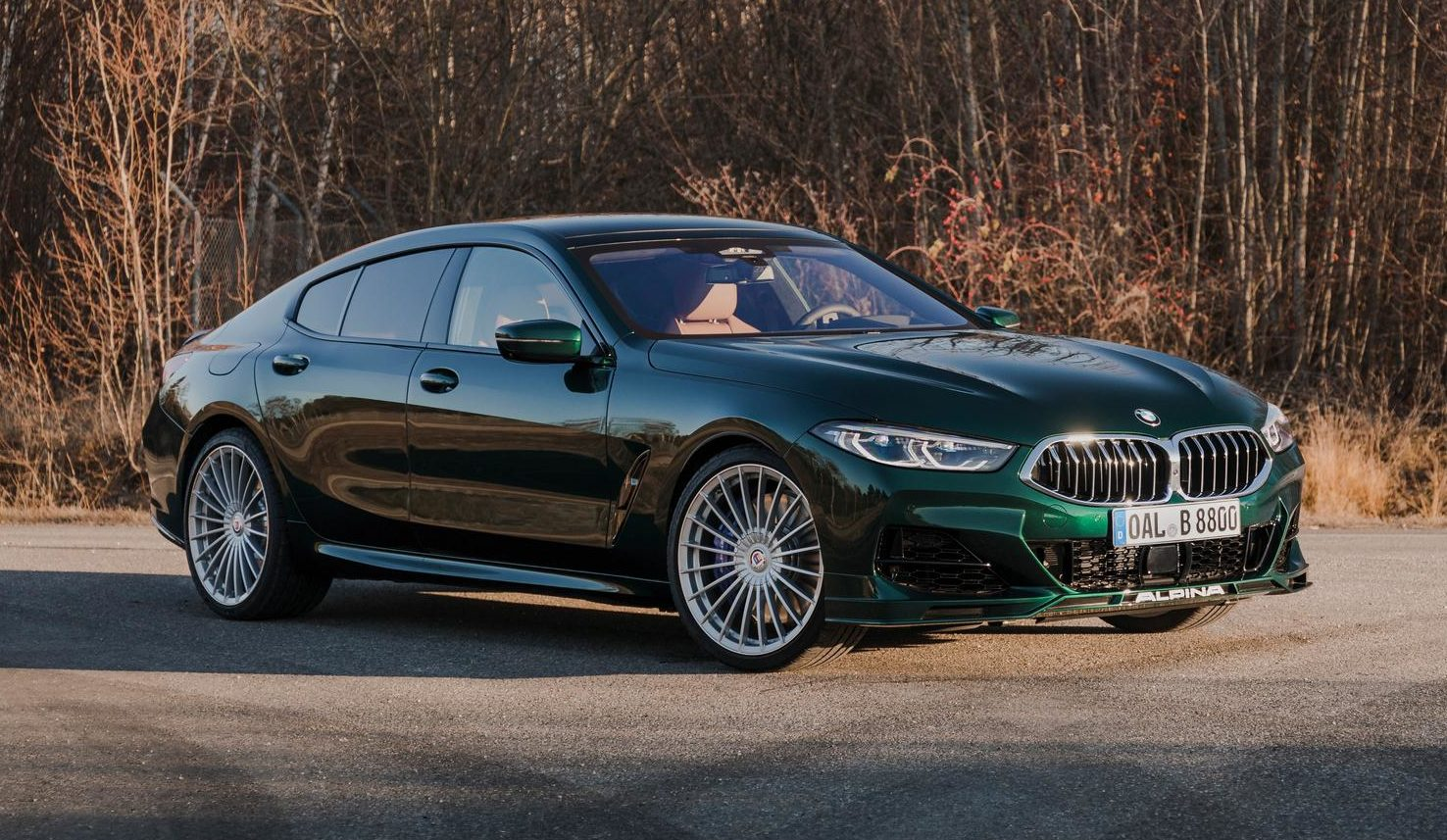 BMW ALPINA B8 Gran Coupe: 201mph 4-Door Coupe Revealed