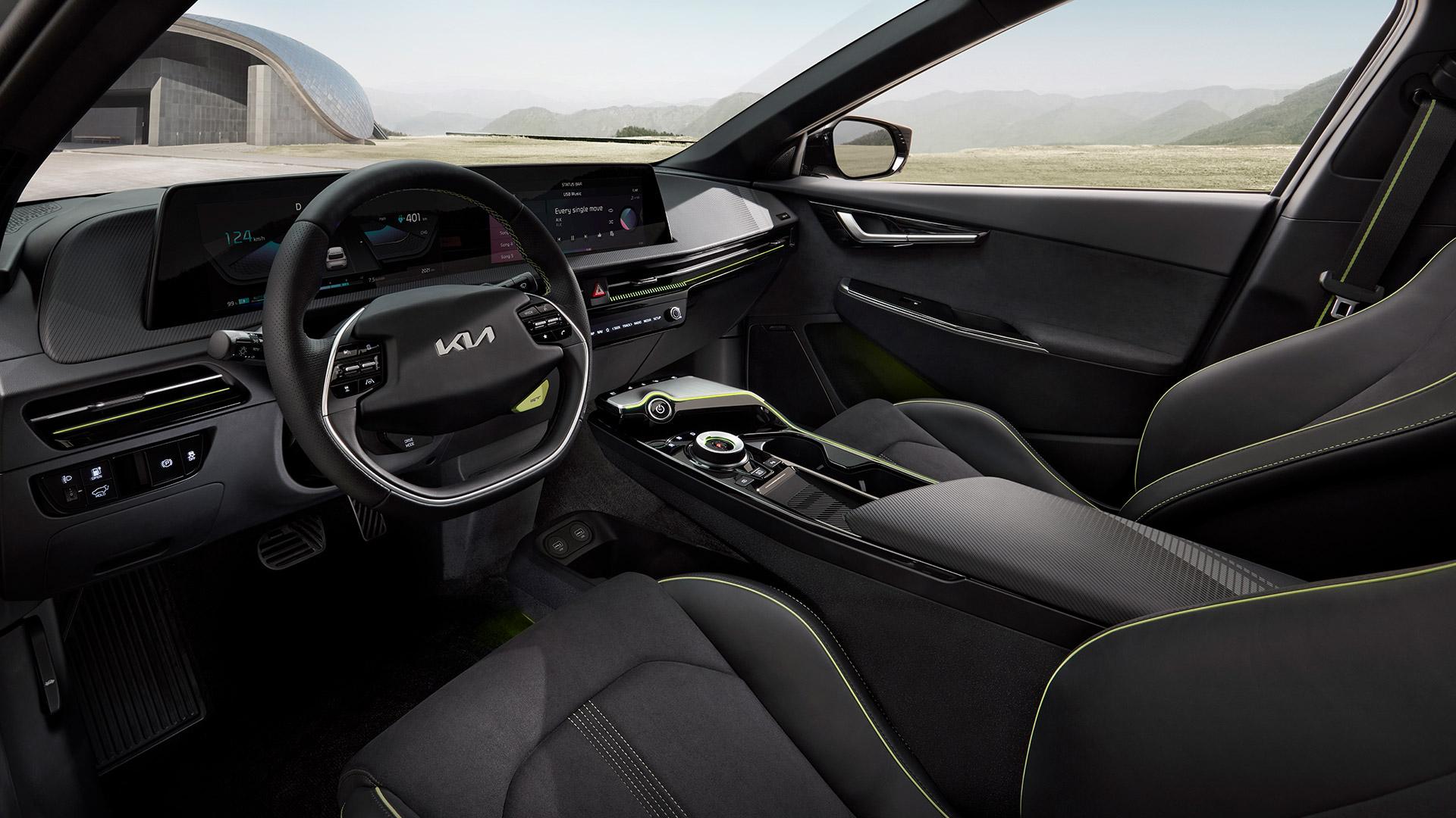 KIA EV6 GT cabin
