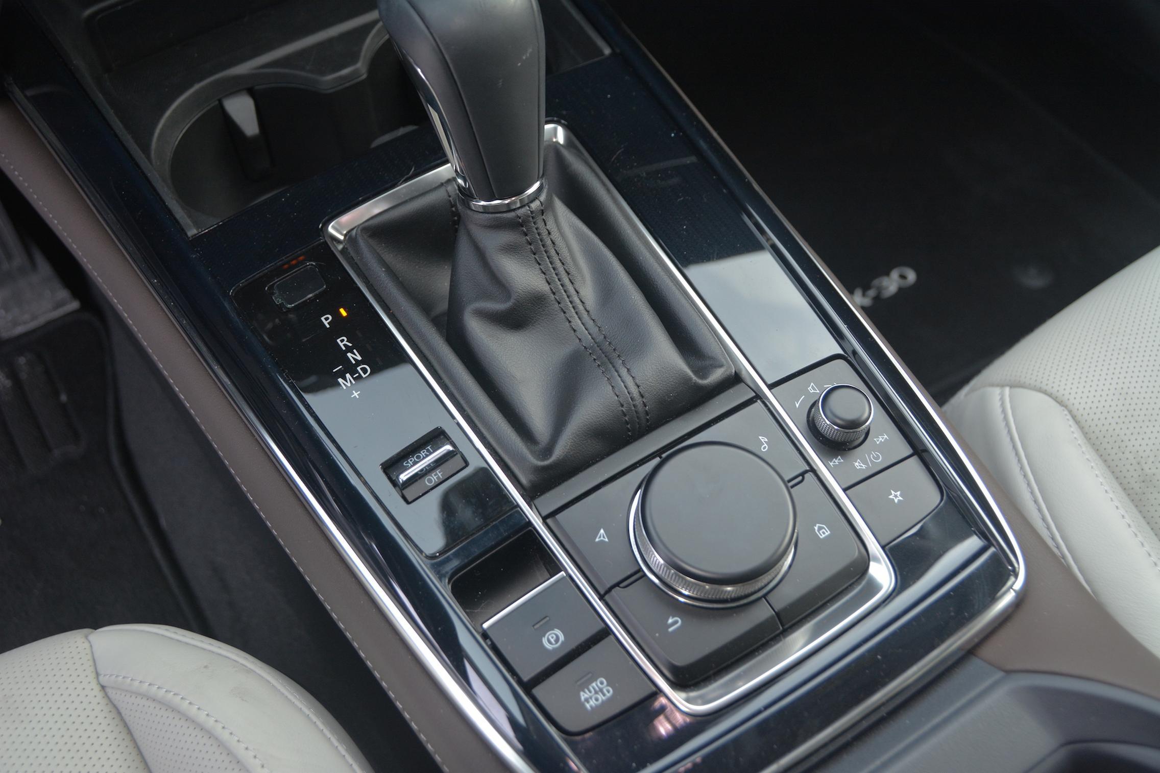 Mazda CX-30 AWD center console