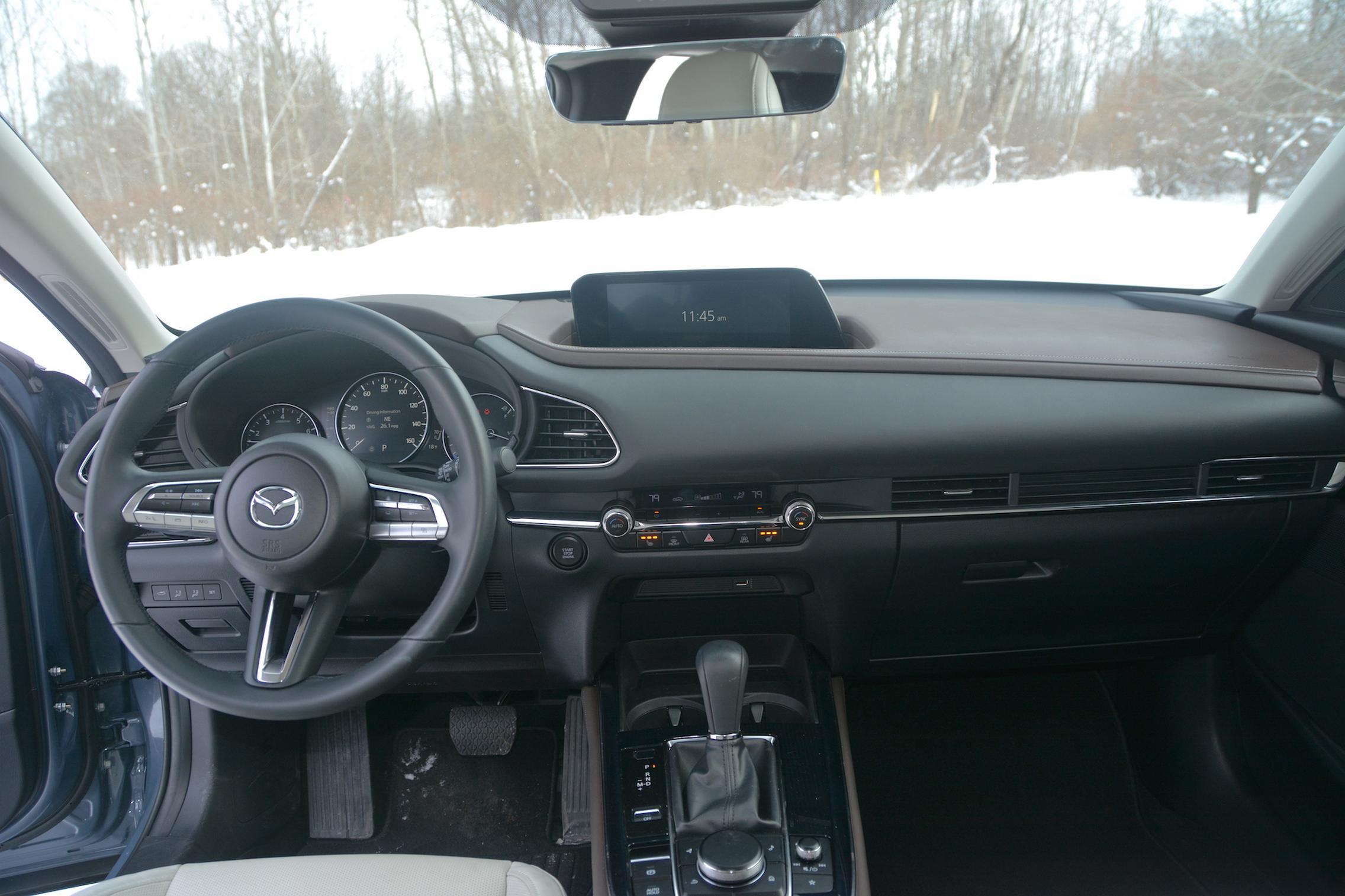 Mazda CX-30 AWD interior