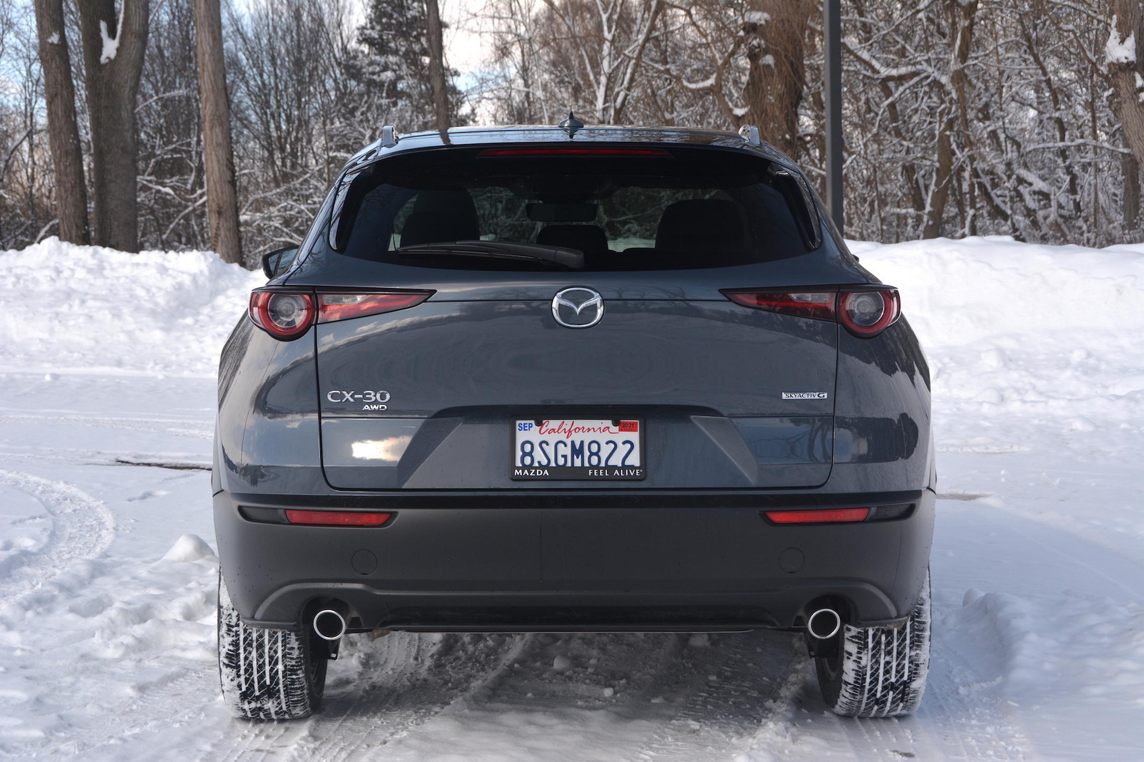 Mazda CX-30 AWD rear lights