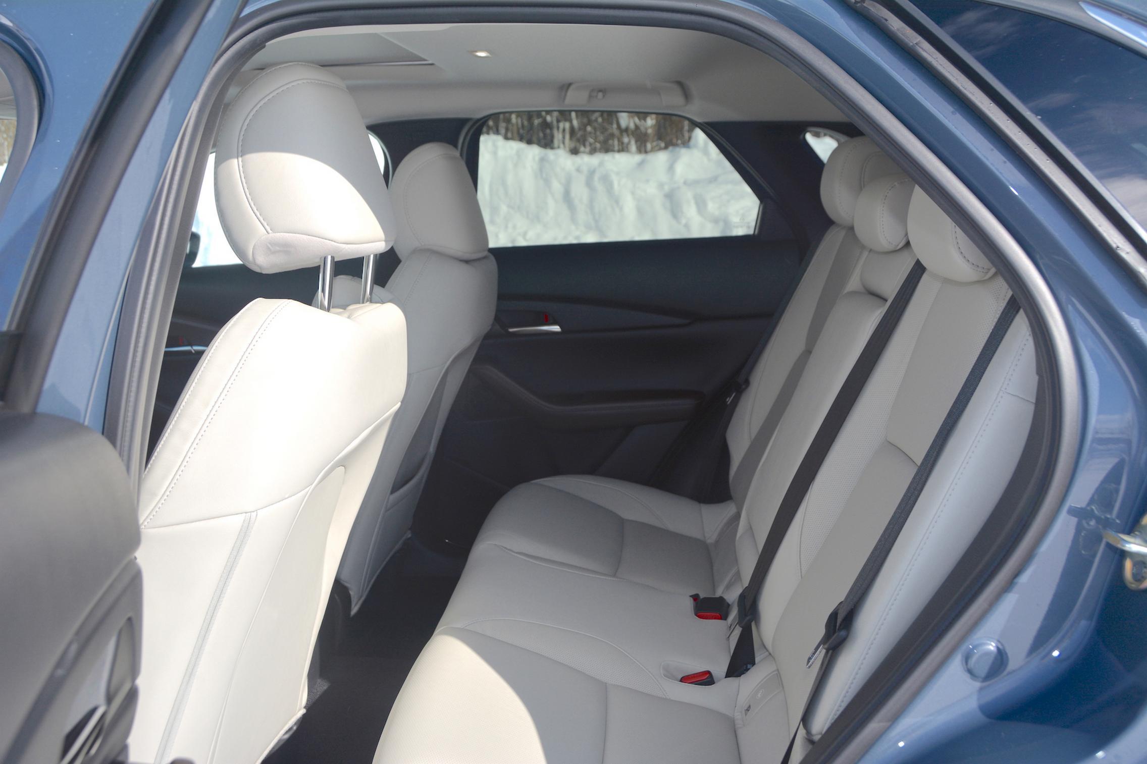 Mazda CX-30 AWD rear seats