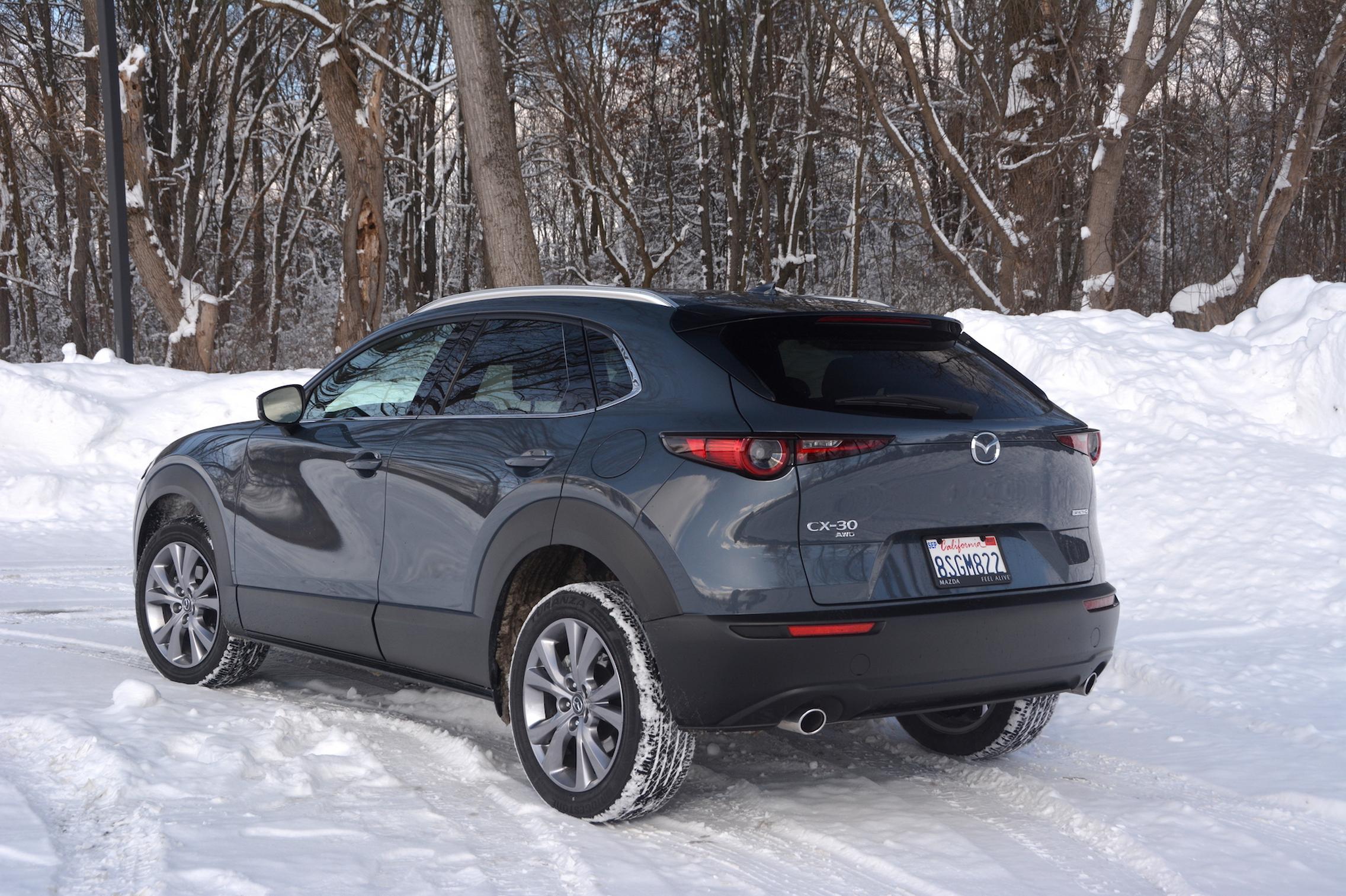 Mazda CX-30 AWD rear