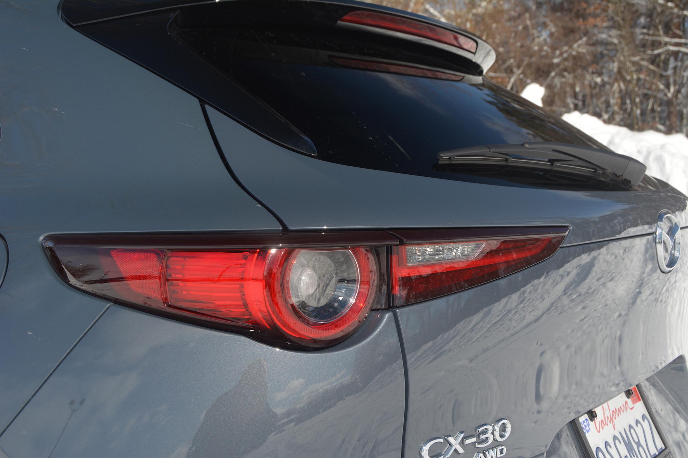 Mazda CX-30 AWD taillight