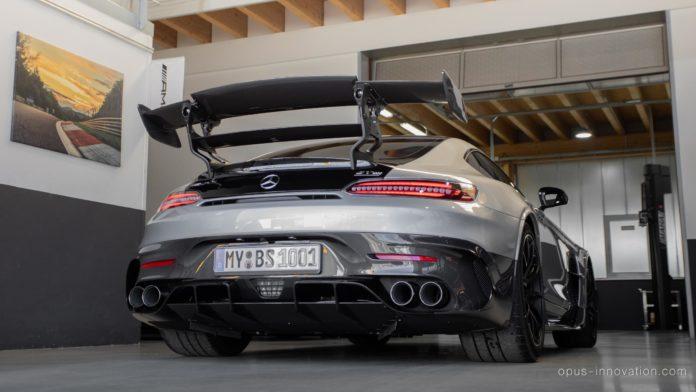 Mercedes-AMG GT Black Series rear