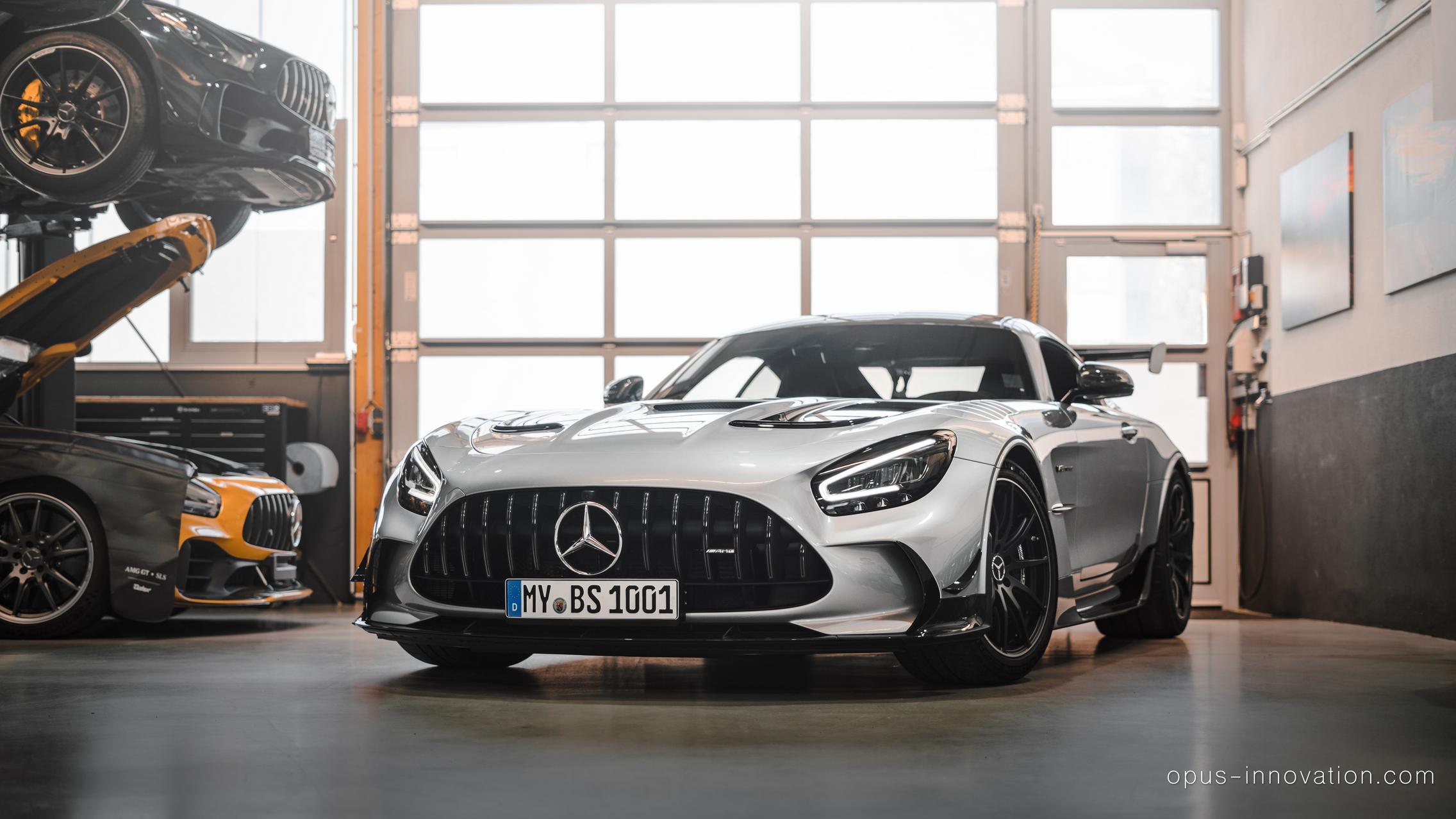 Freshly Delivered Mercedes-AMG GT Black Series Has 1,111hp after Tuning - GTspirit