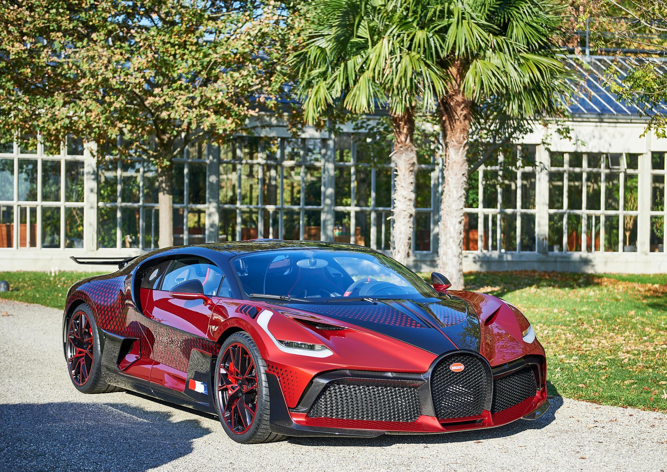 Red Bugatti Divo
