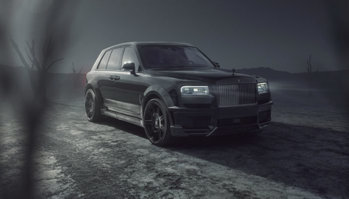 Rolls-Royce Cullinan Black Badge Gains Wider Hips – Spofec Tuning