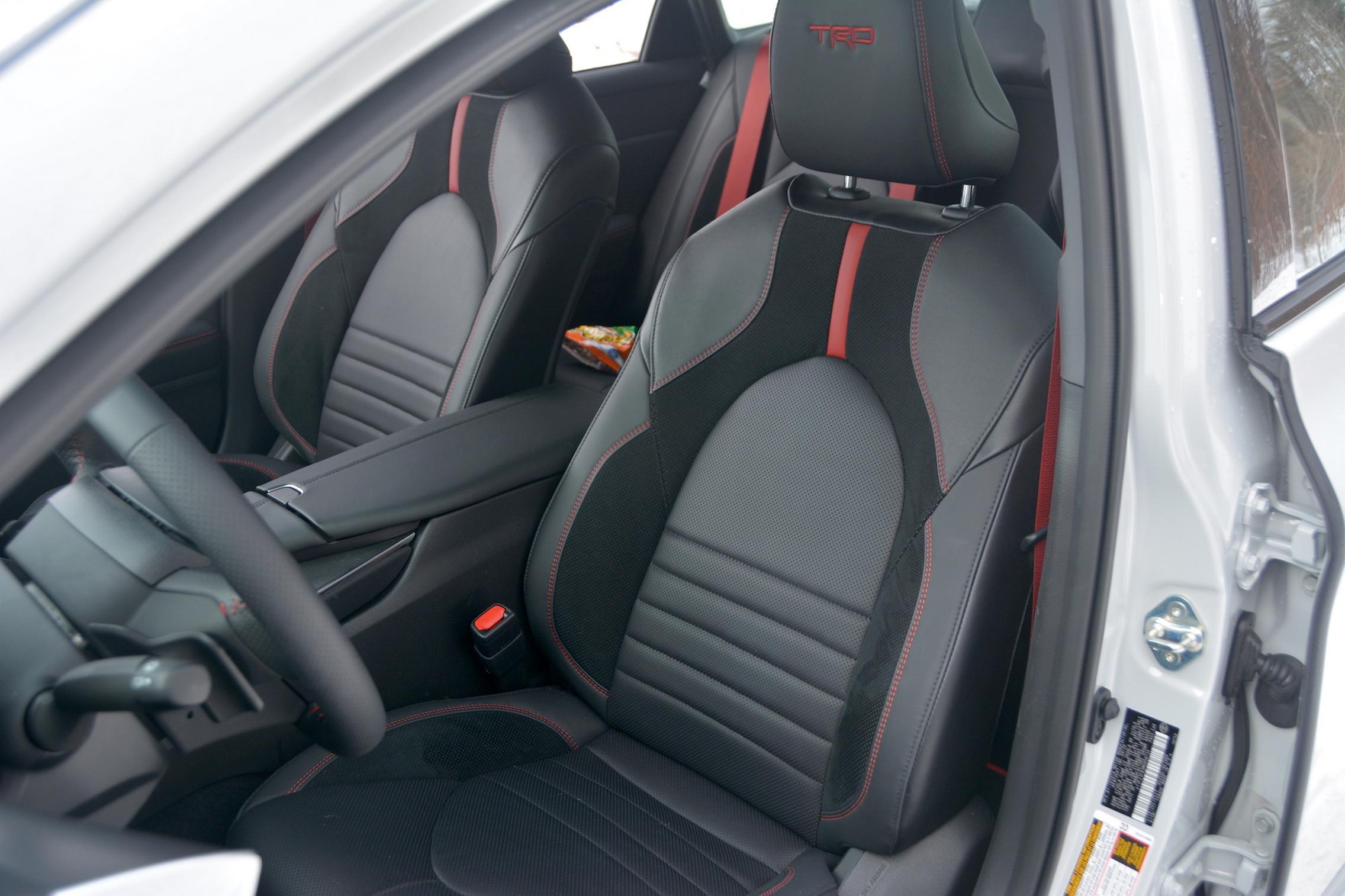 Toyota Avalon TRD cabin