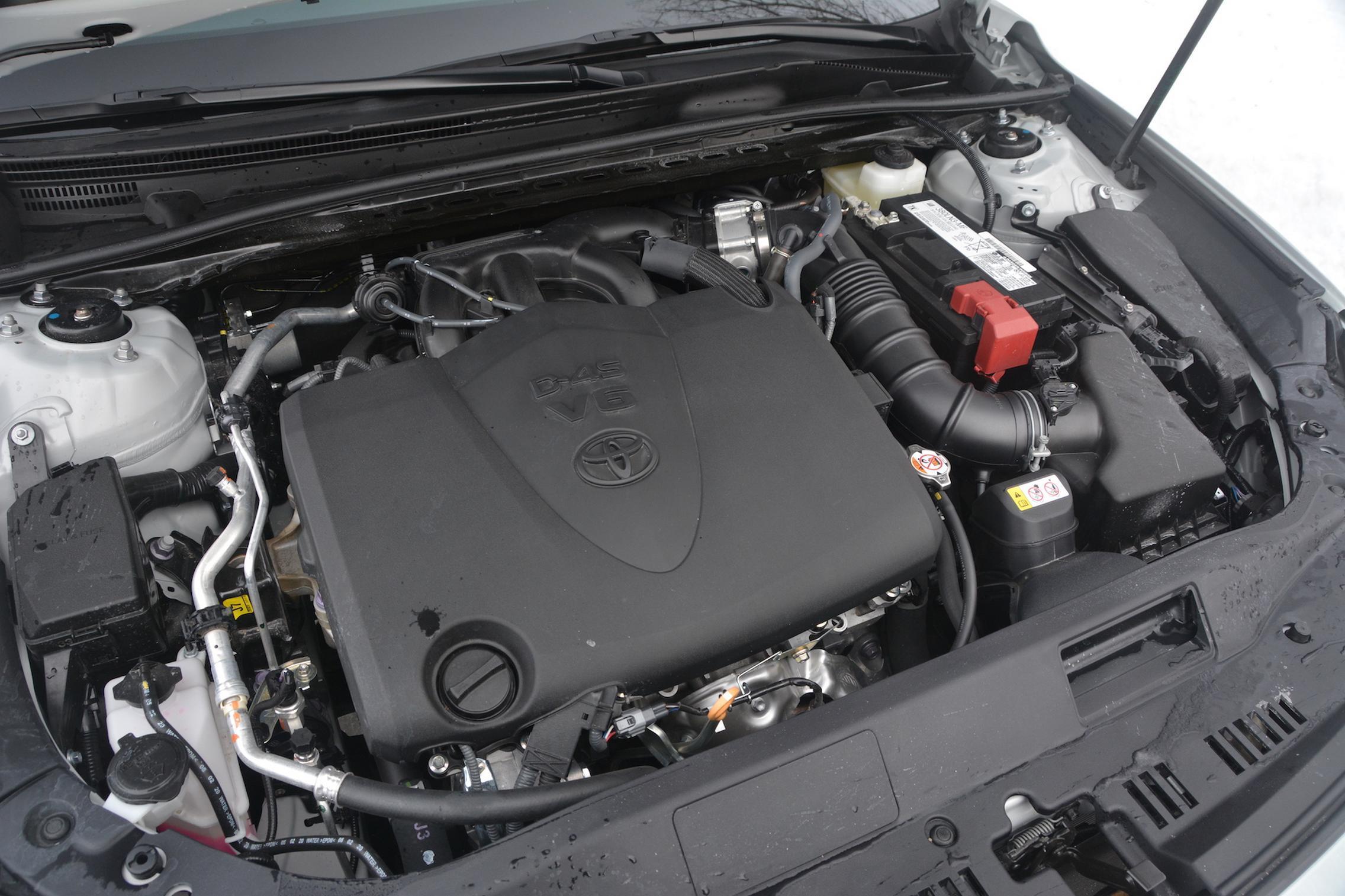 Toyota Avalon TRD engine