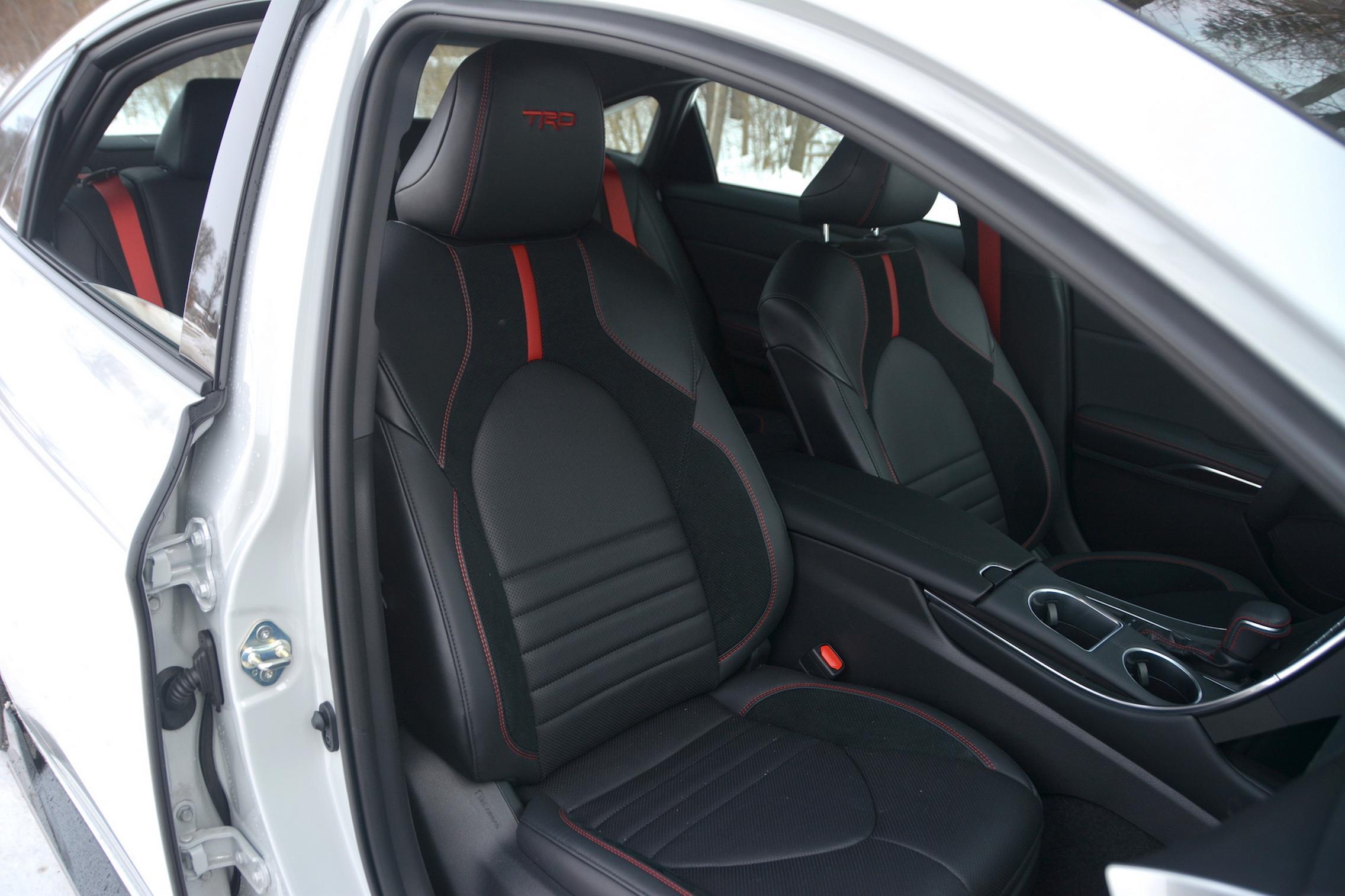 Toyota Avalon TRD front seats