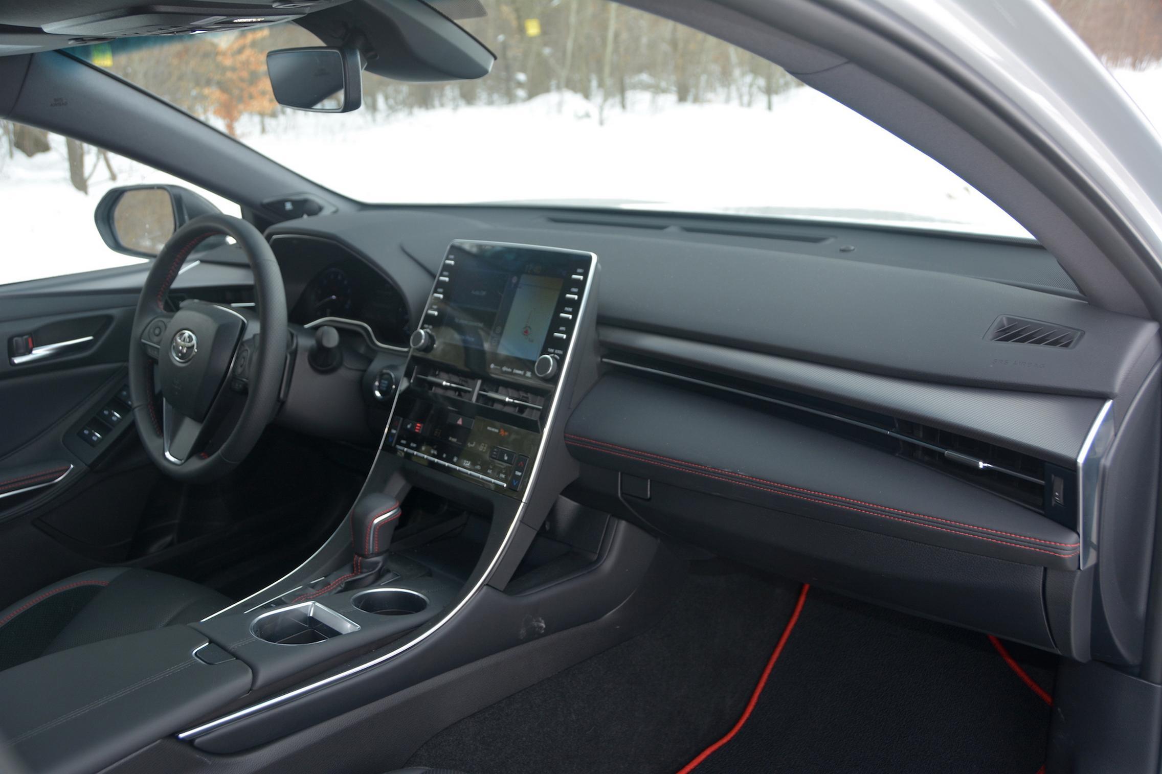 Toyota Avalon TRD interior