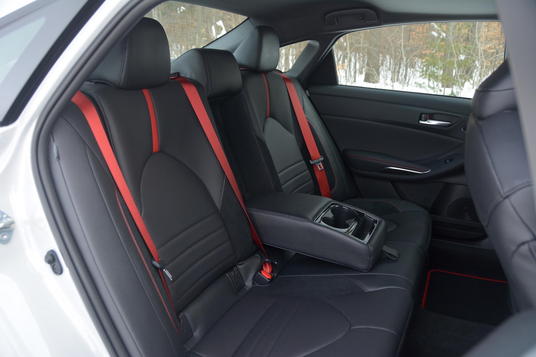 Toyota Avalon TRD seats