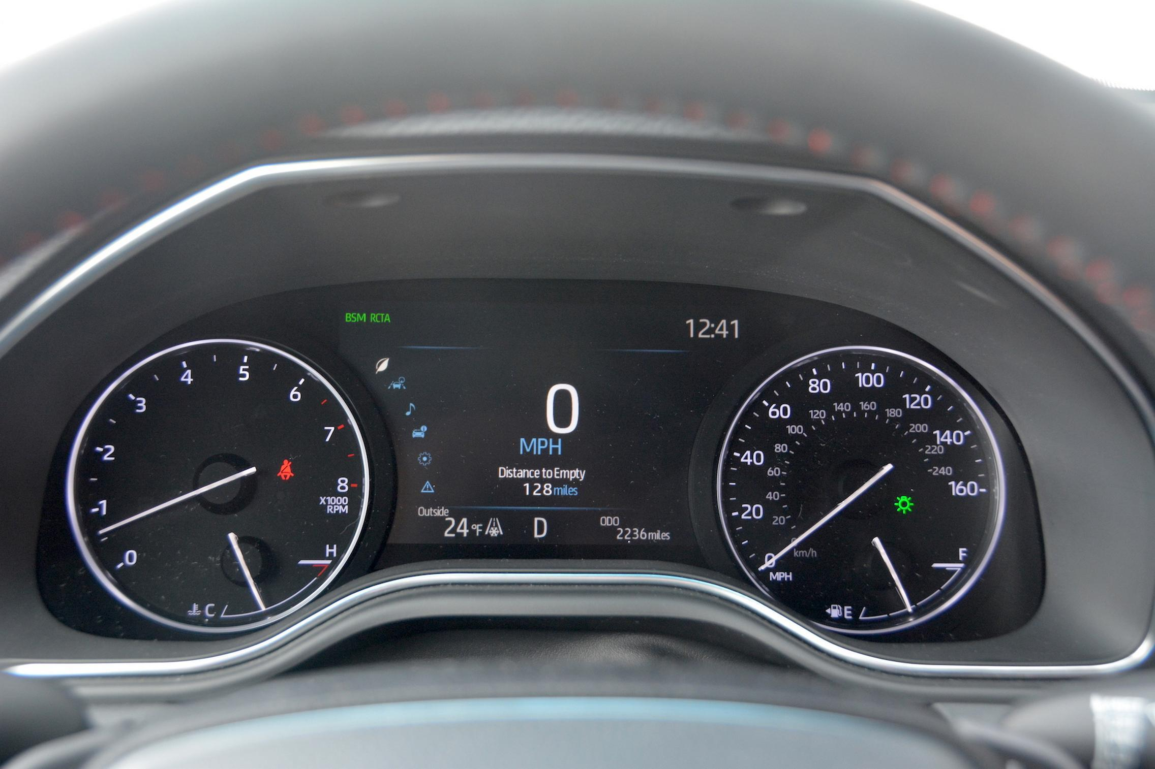 Toyota Avalon TRD speedo