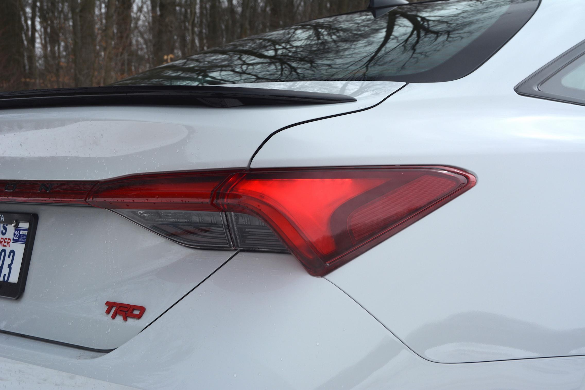 Toyota Avalon TRD taillight
