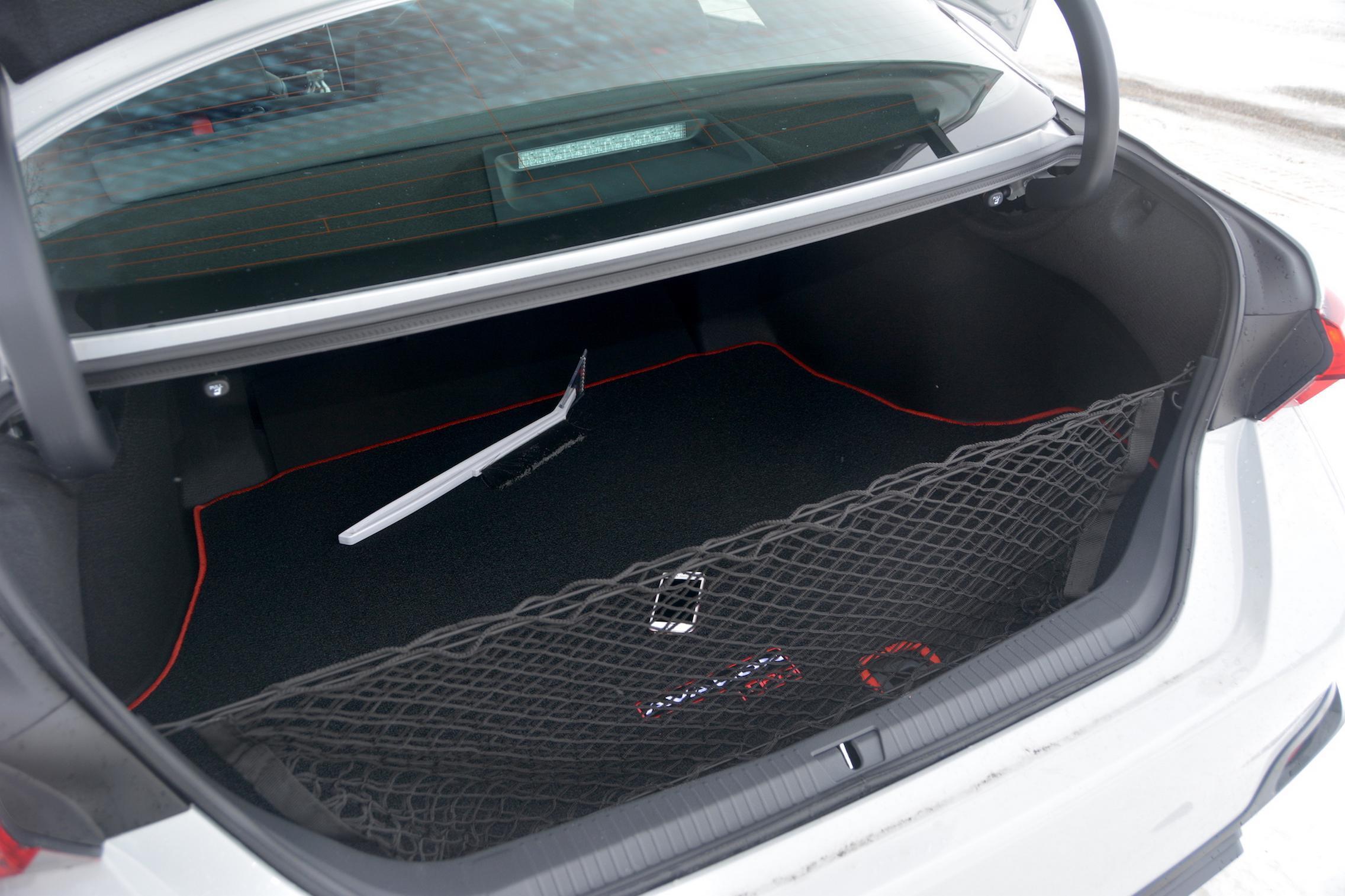 Toyota Avalon TRD trunk