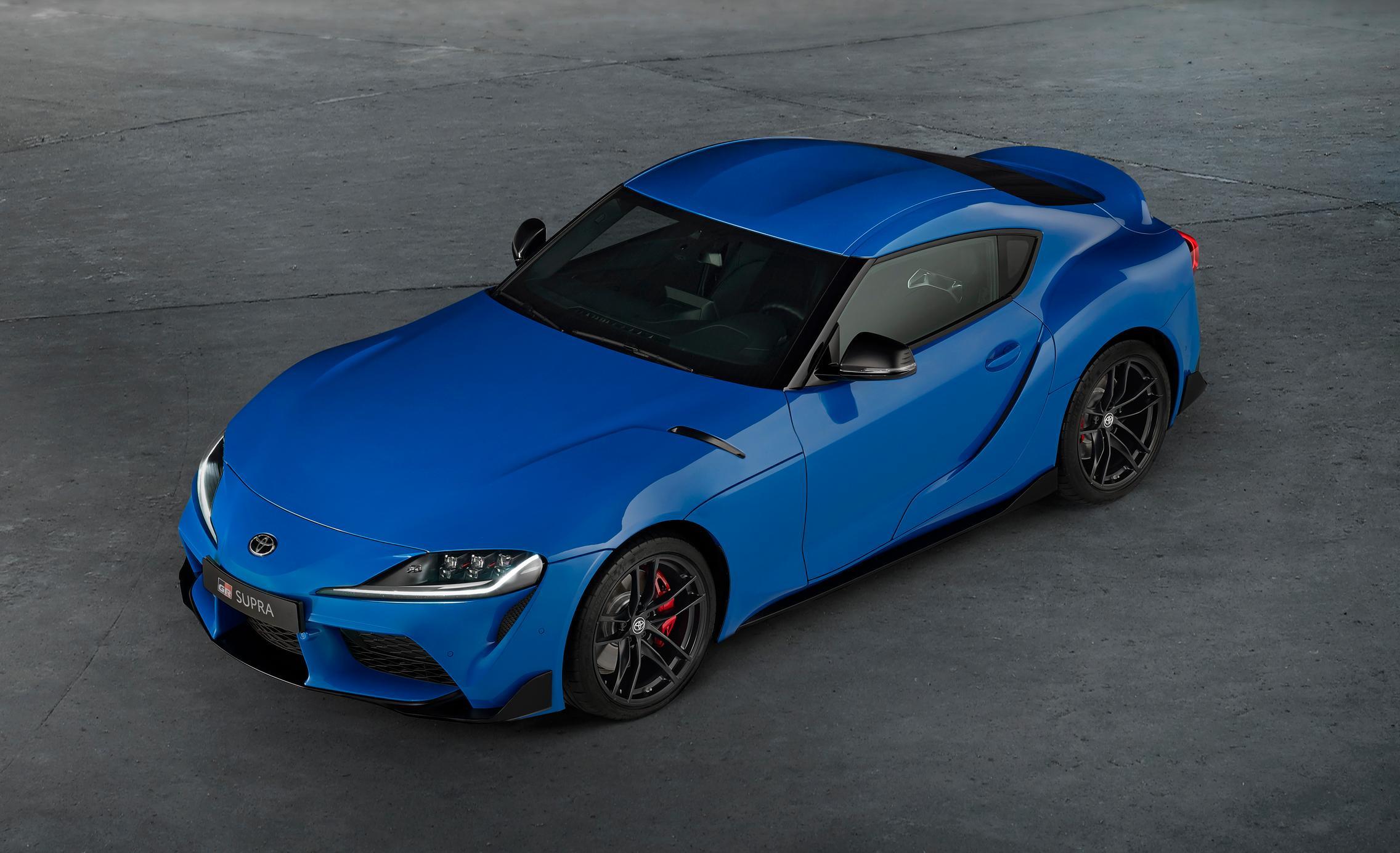 Toyota GR Supra Blue