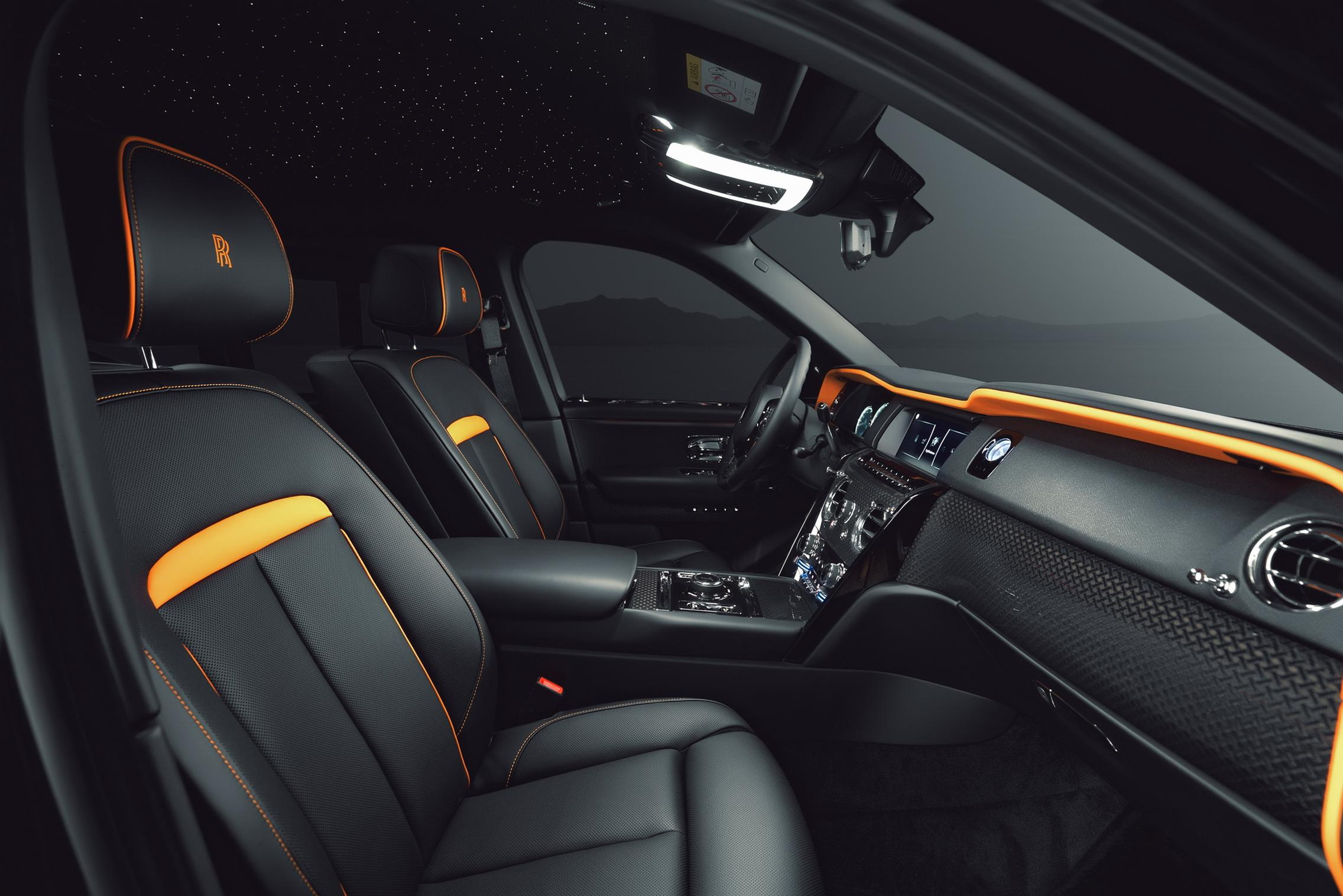 Widebody Rolls-Royce Cullinan interior