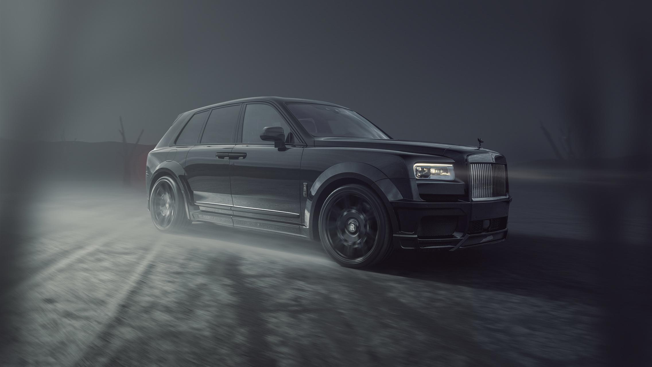 Widebody Rolls-Royce Cullinan