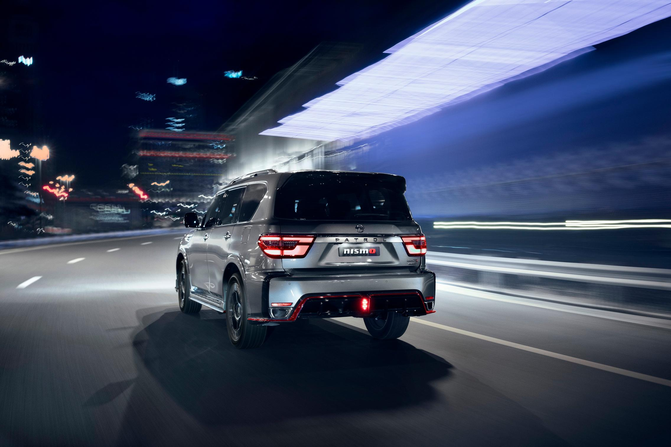 2021 Nissan Patrol NISMO rear